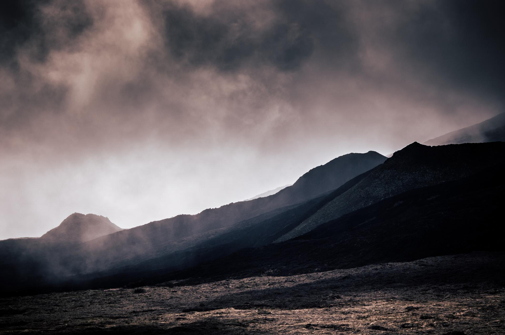 Sur les traces du volcan