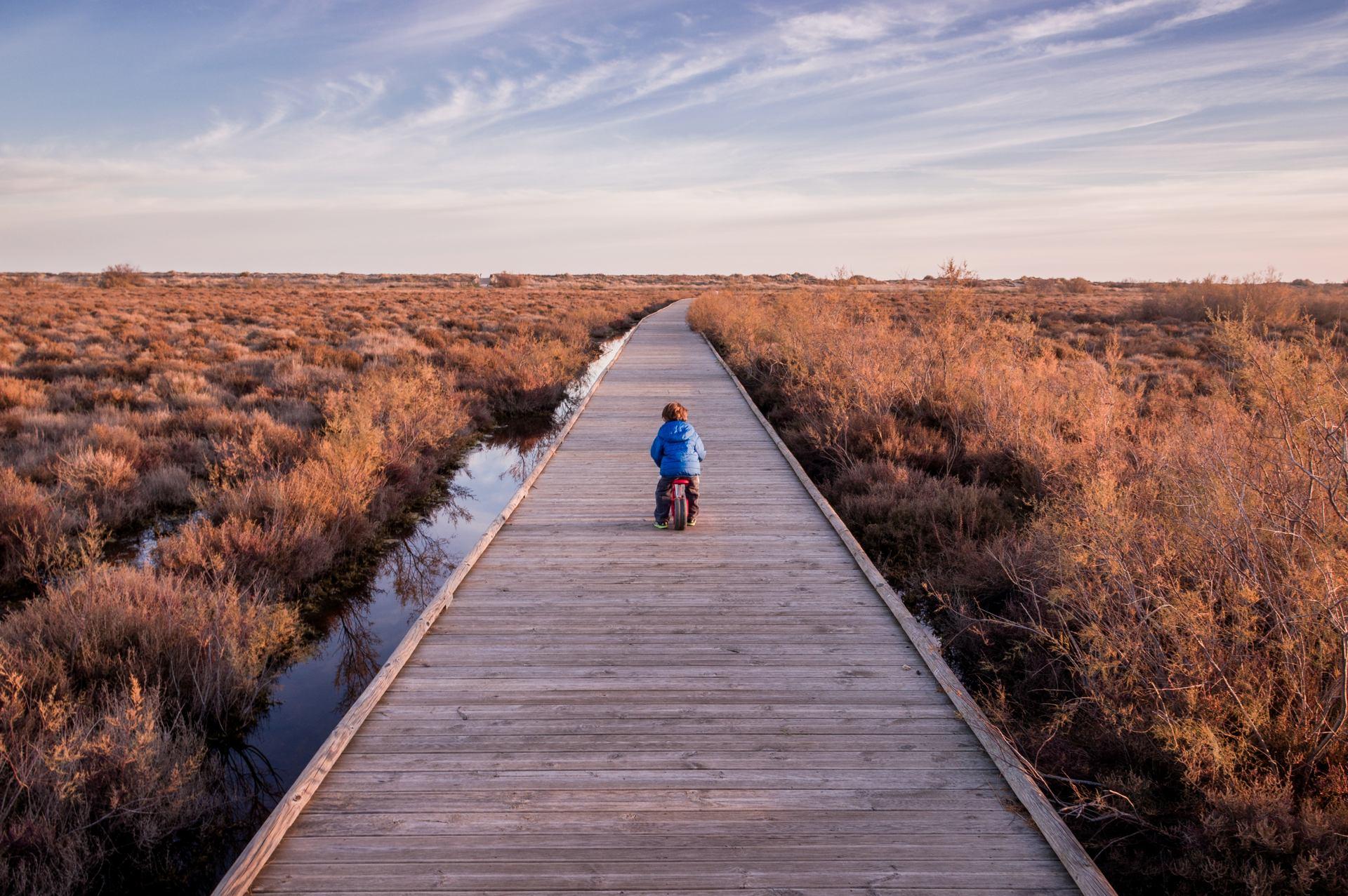 La traversée de la plaine d'Aude