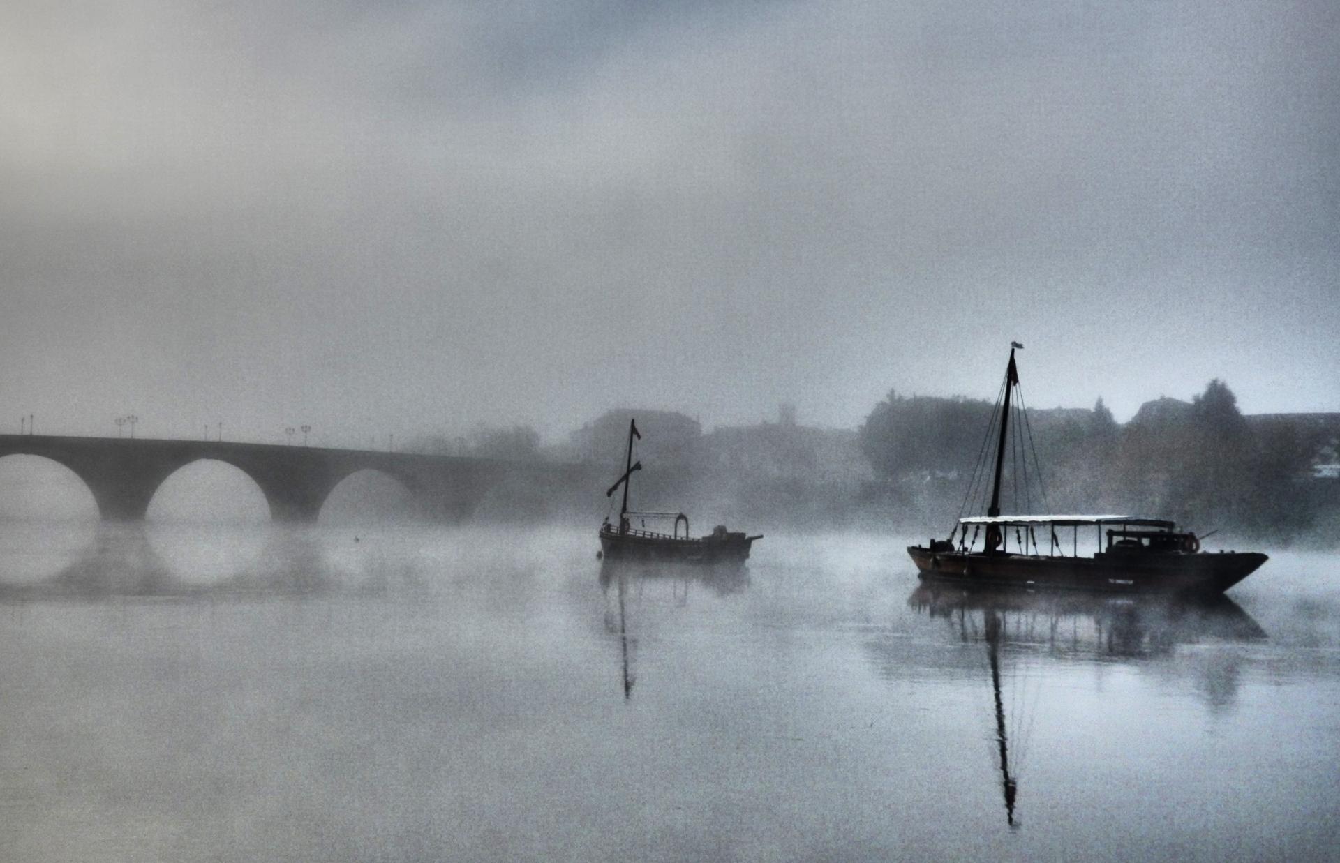 Tôt le matin... la Dordogne.