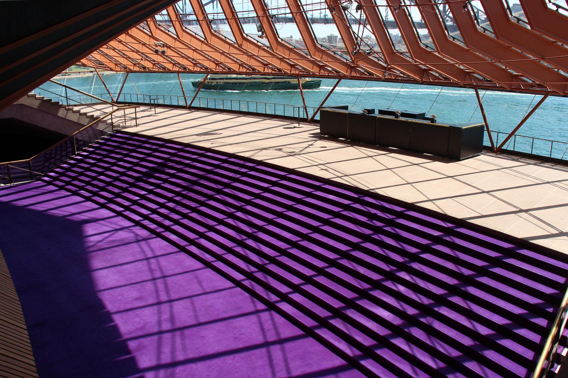 Purple carpet (opéra de Sydney - Australie)