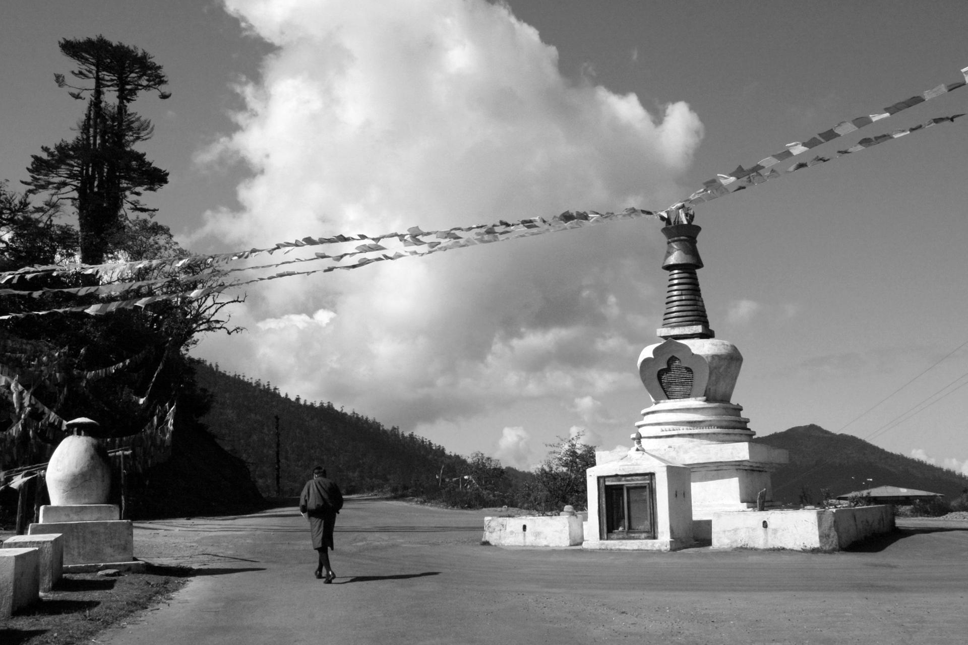 Col Pele La (Entre Gangtey et Jakar - Bhoutan)