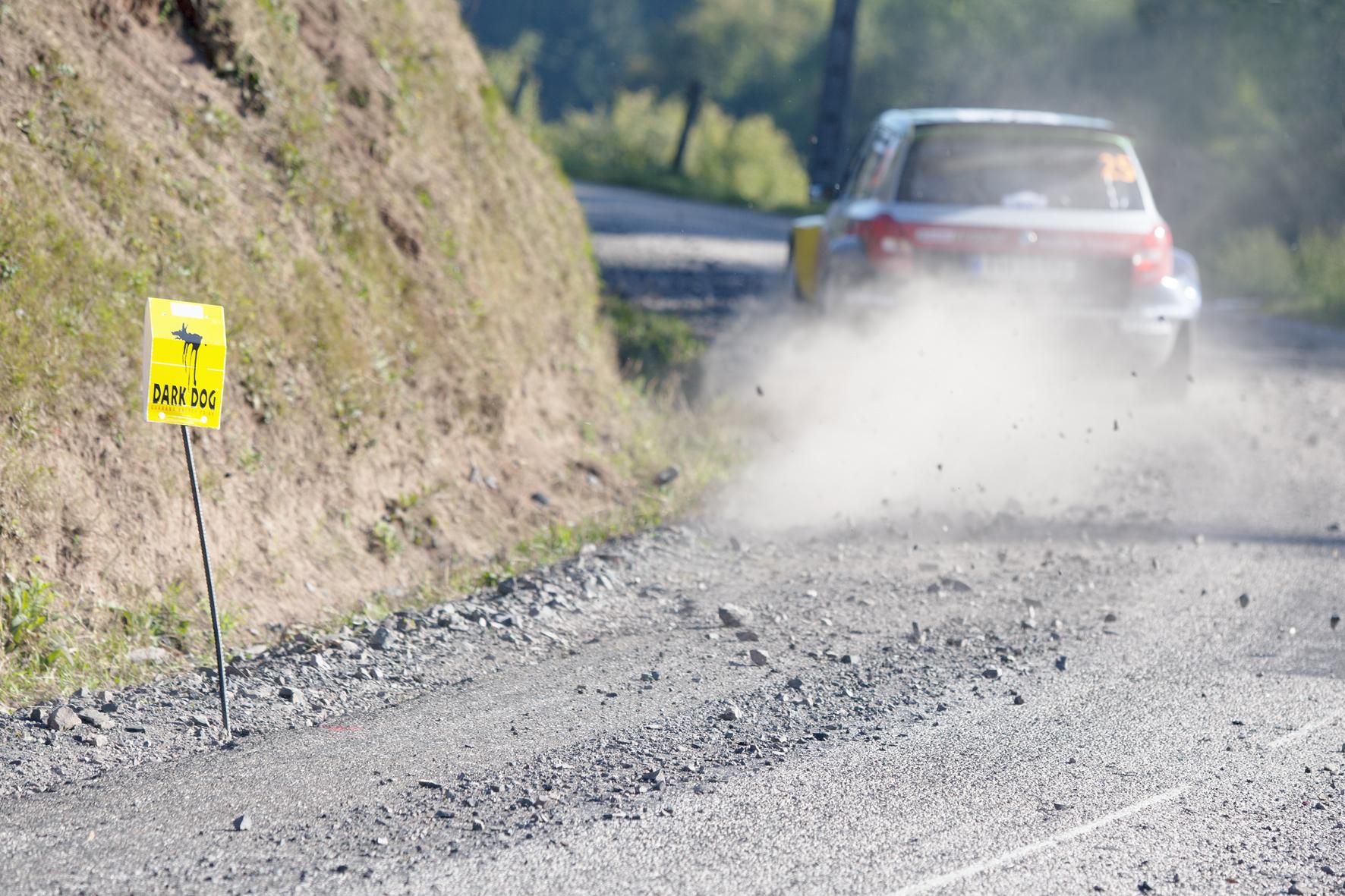 Juho Hänninen au Rallye d'Alsace (France)