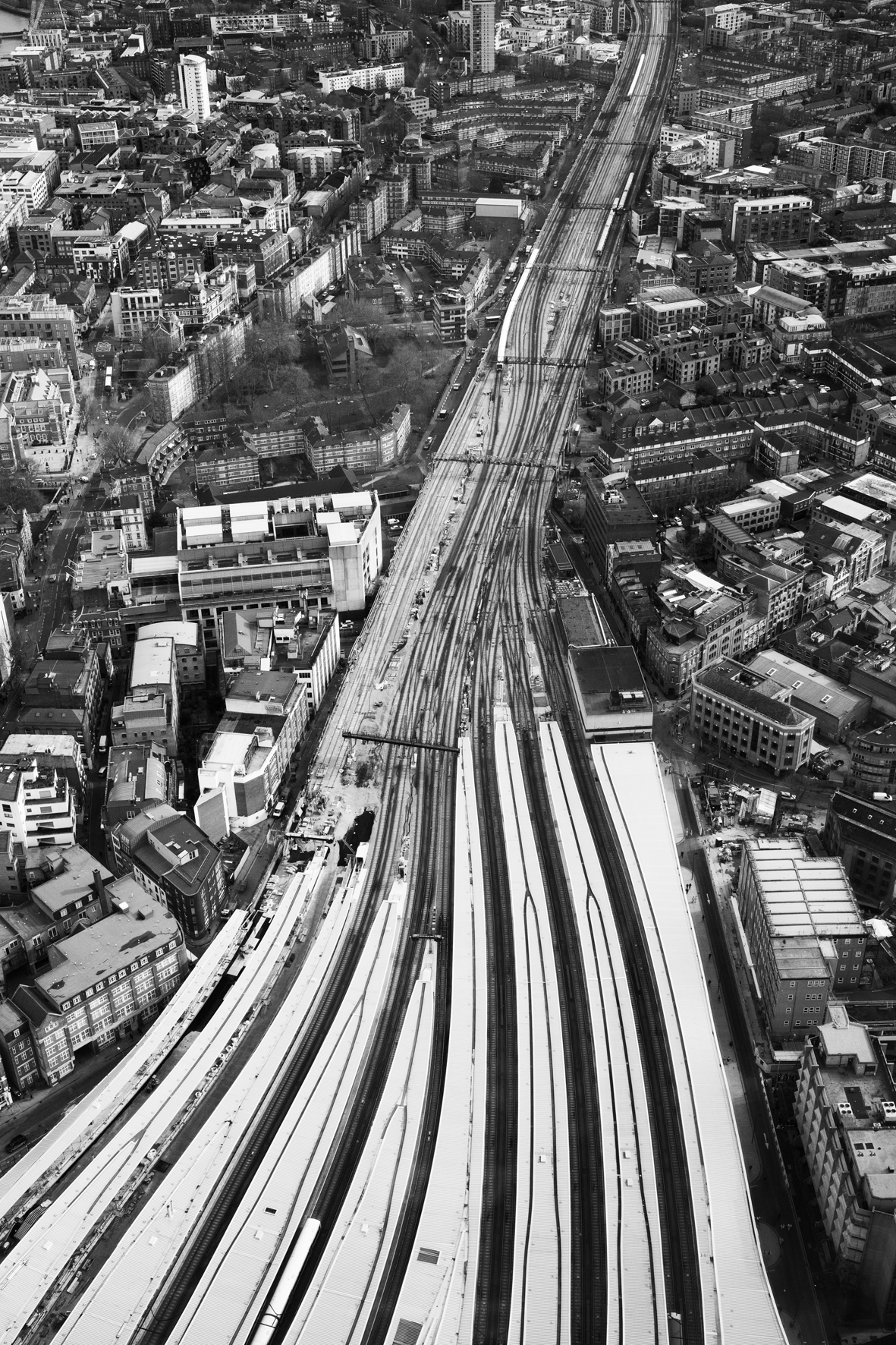 Tissage ferroviaire londonien