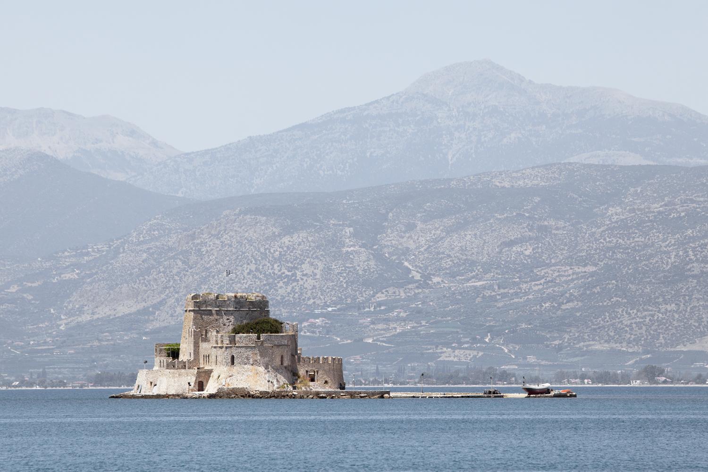 Forteresse Bourdzi, Nauplie, Grèce
