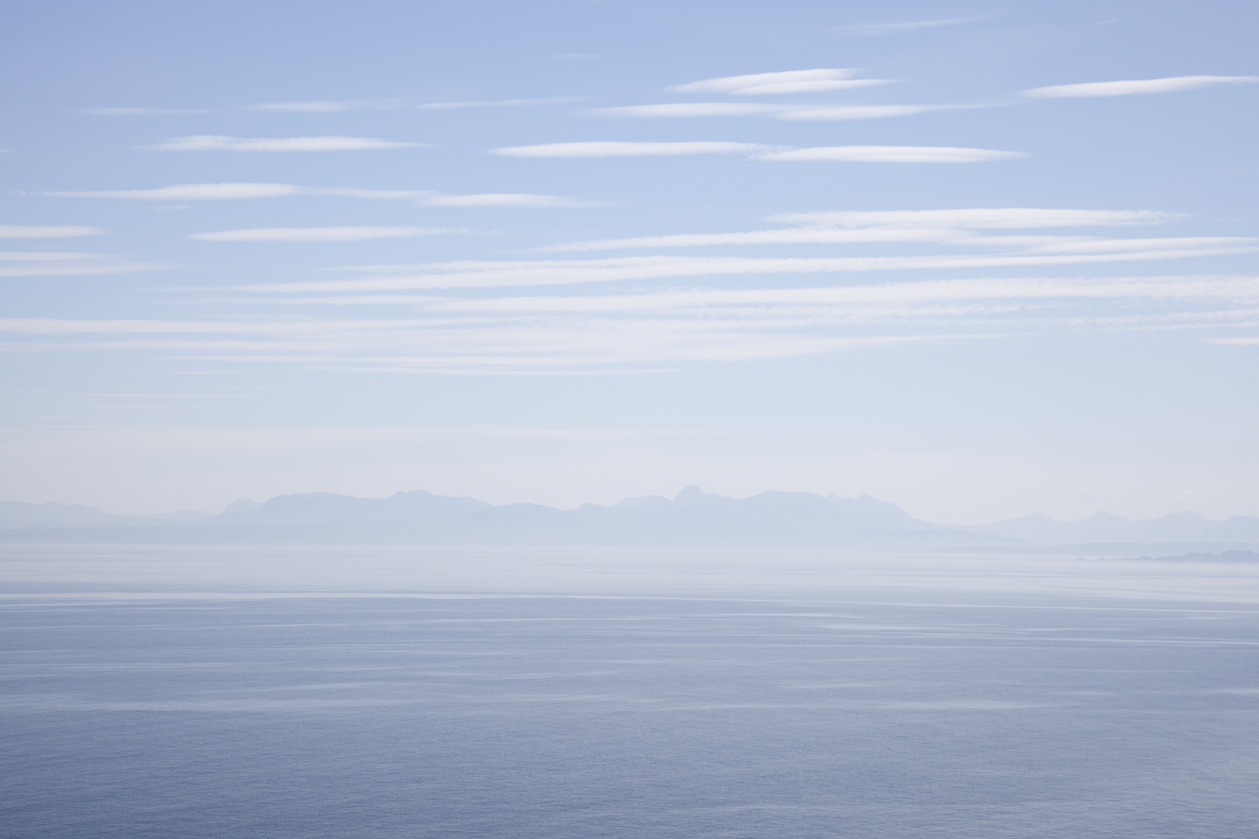 Vue de Culnacnoc, Isle of Skye, Ecosse