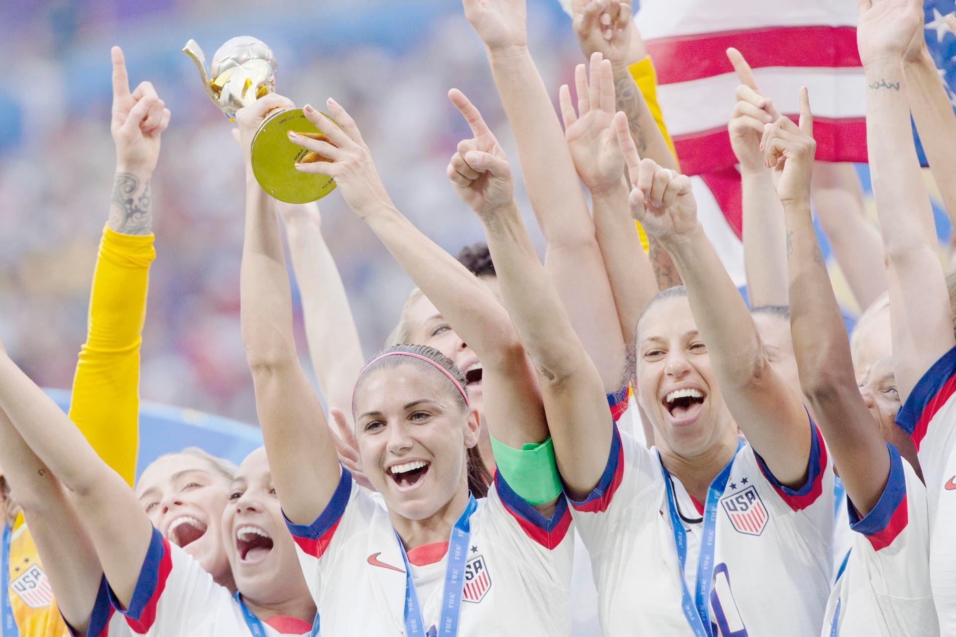 Les américaines championnes du Monde de football 2019
