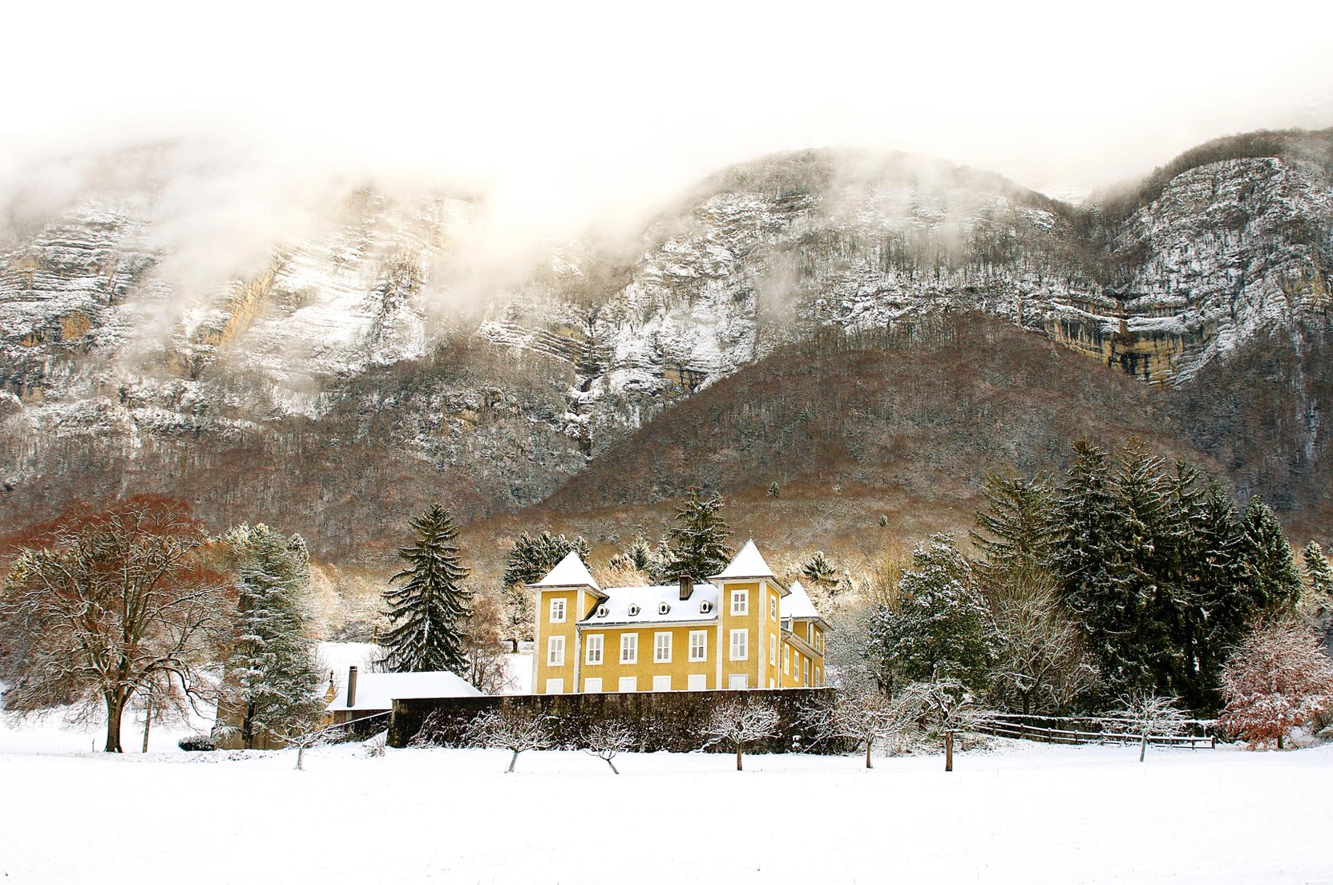 Le Chateau de ma Mère (enneigé)