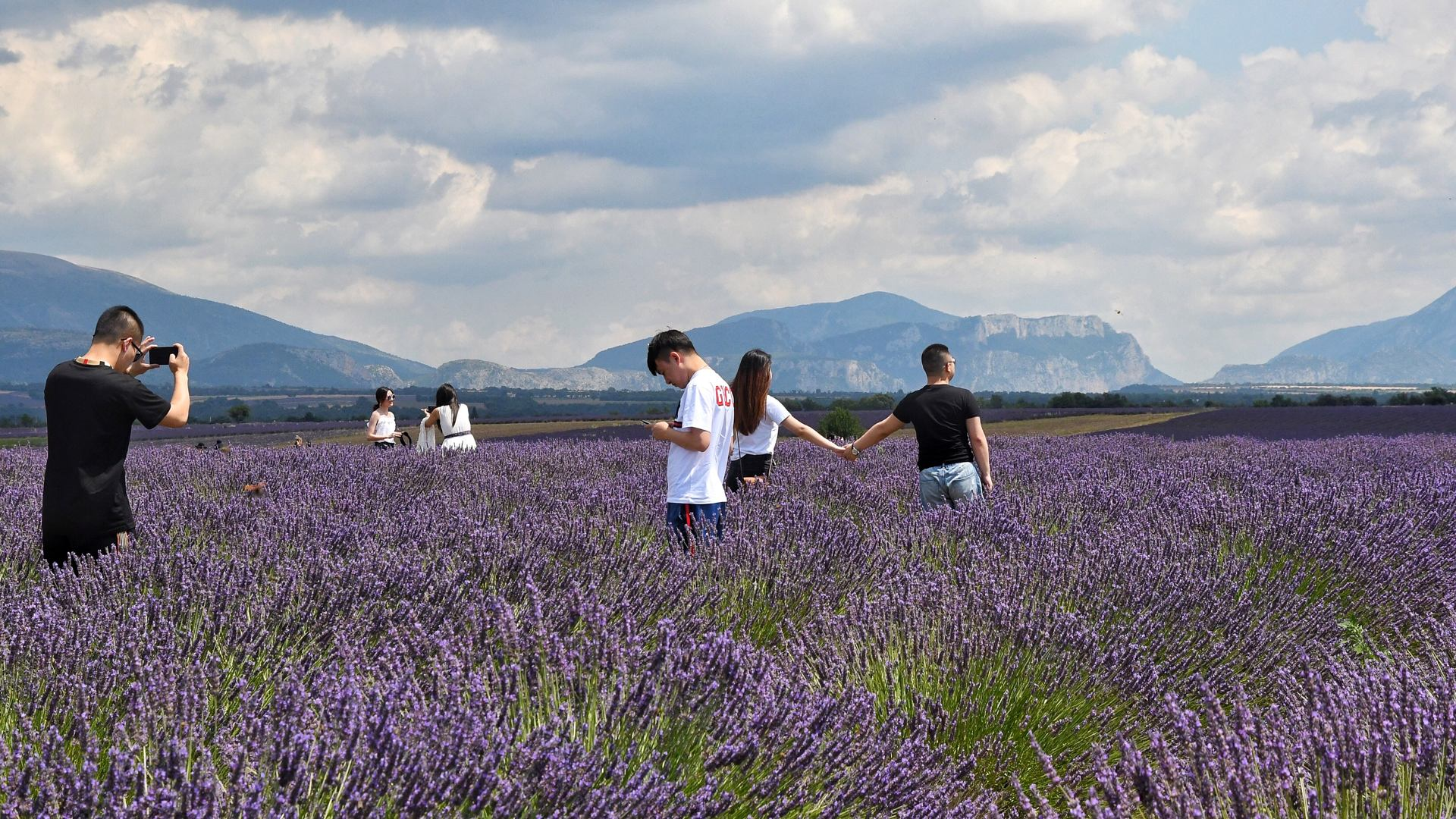 L'Instant photo chinois en Provence