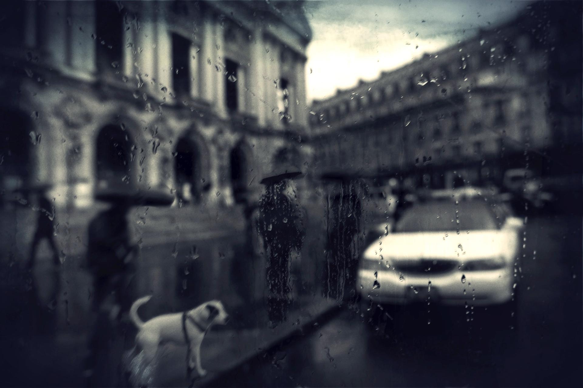 Opéra jour de pluie