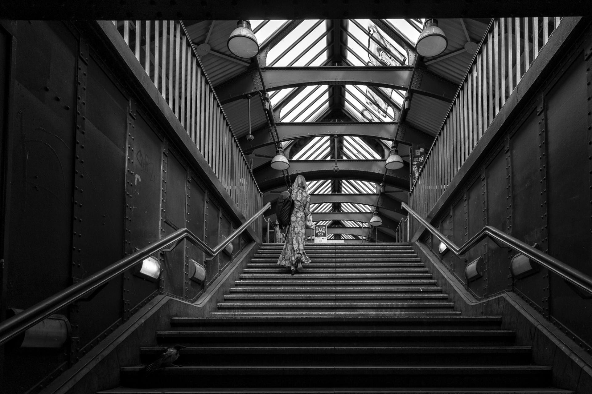 La demoiselle du métro