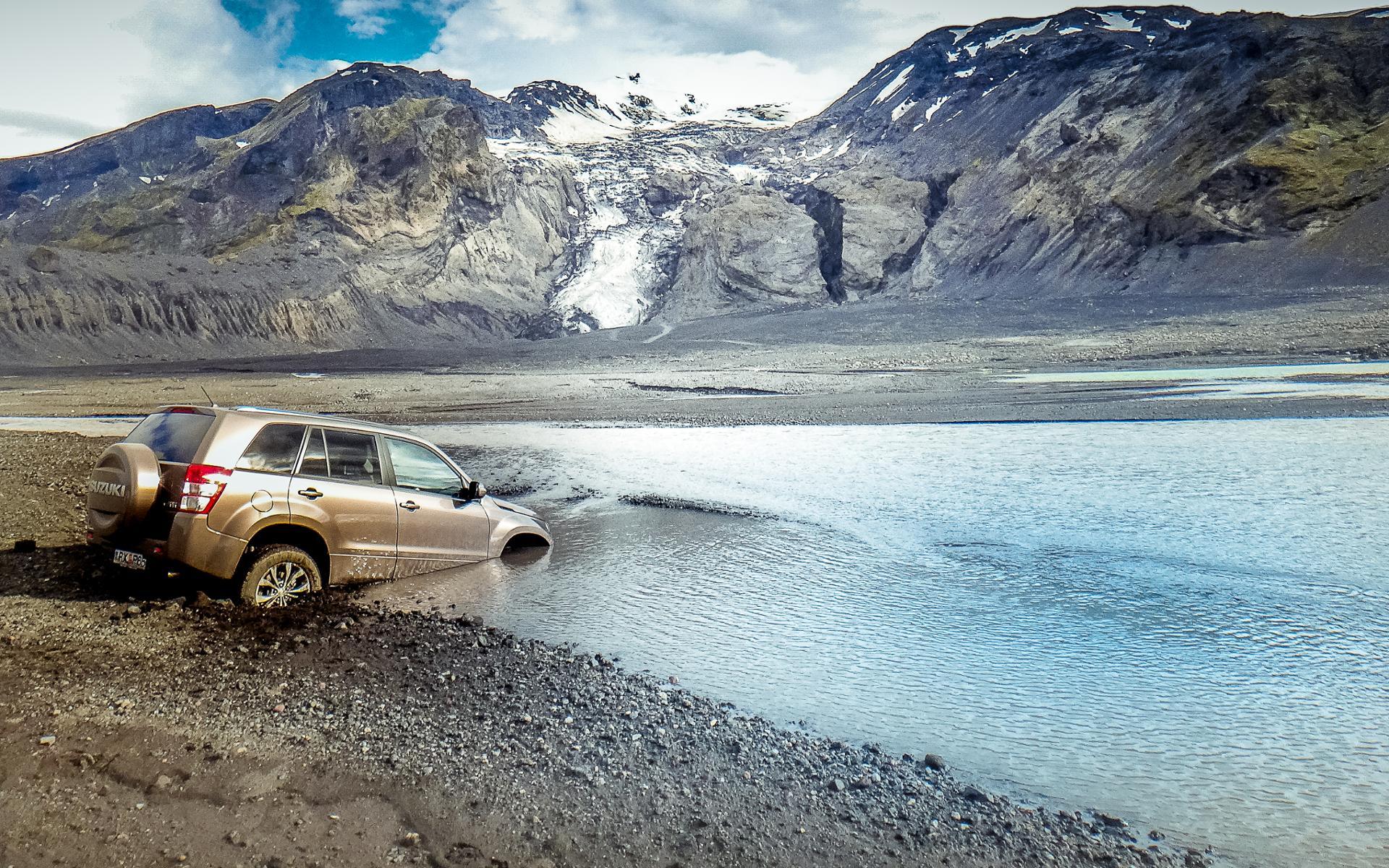 islande : la rivière a gagné