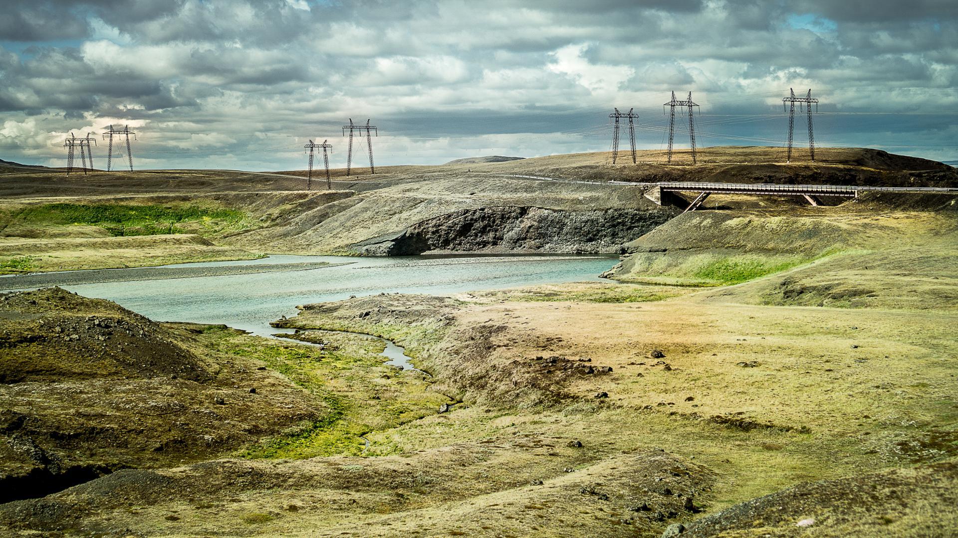 islande : la nature et l'homme