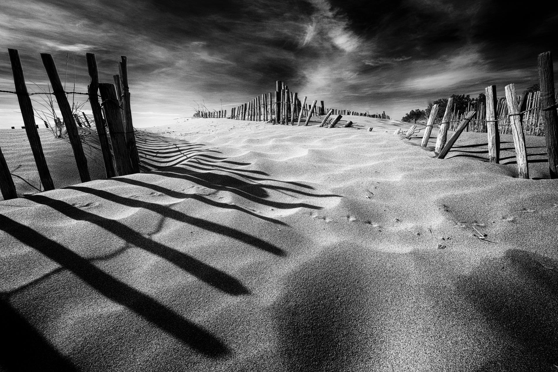 Le sable contenu