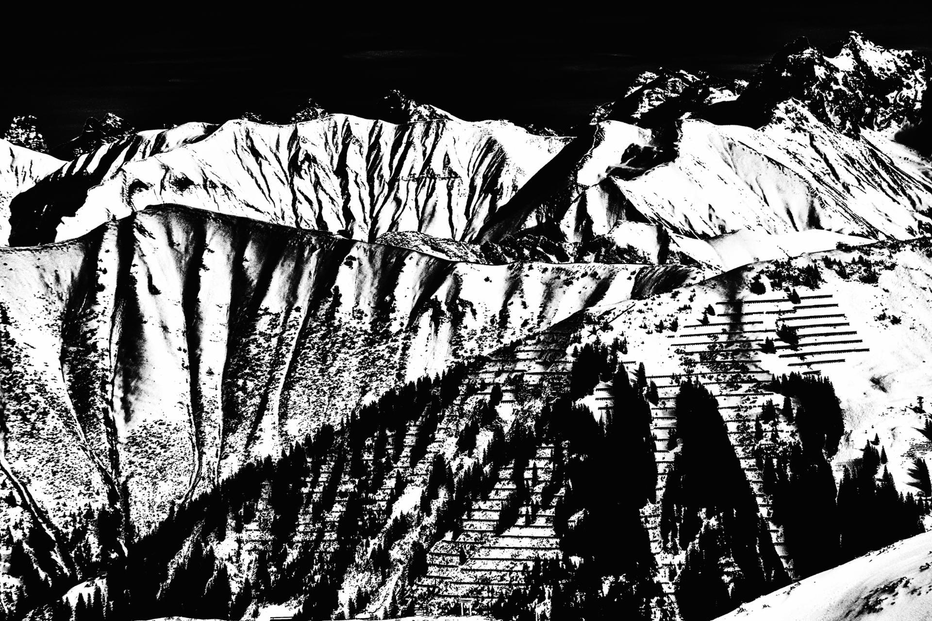 La montagne linéaire