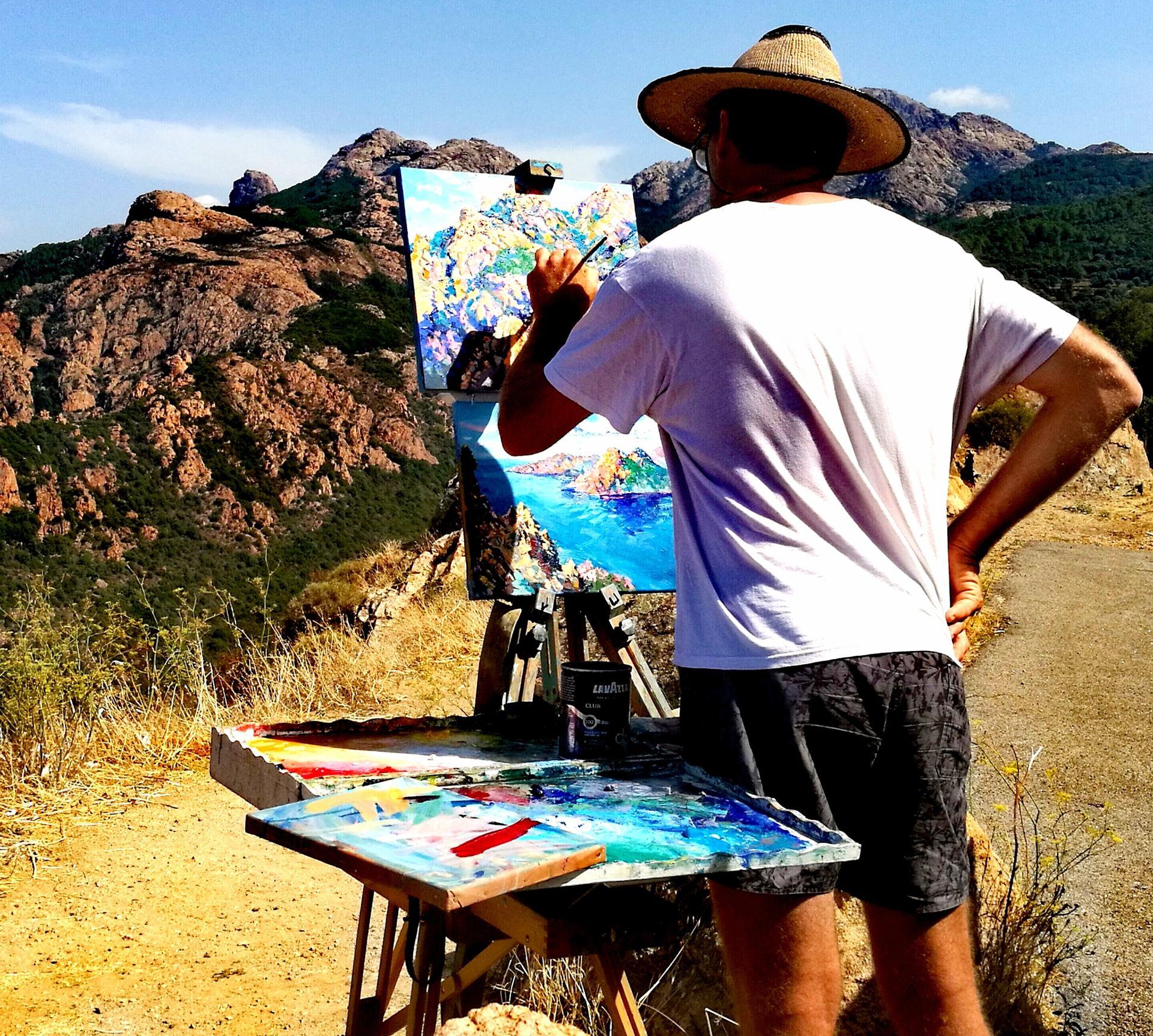 Peinture au grand air