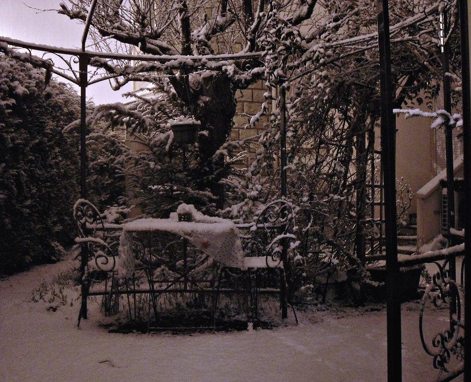 Jardin en hiver l dans le concours jardins for Jardin anglais en hiver