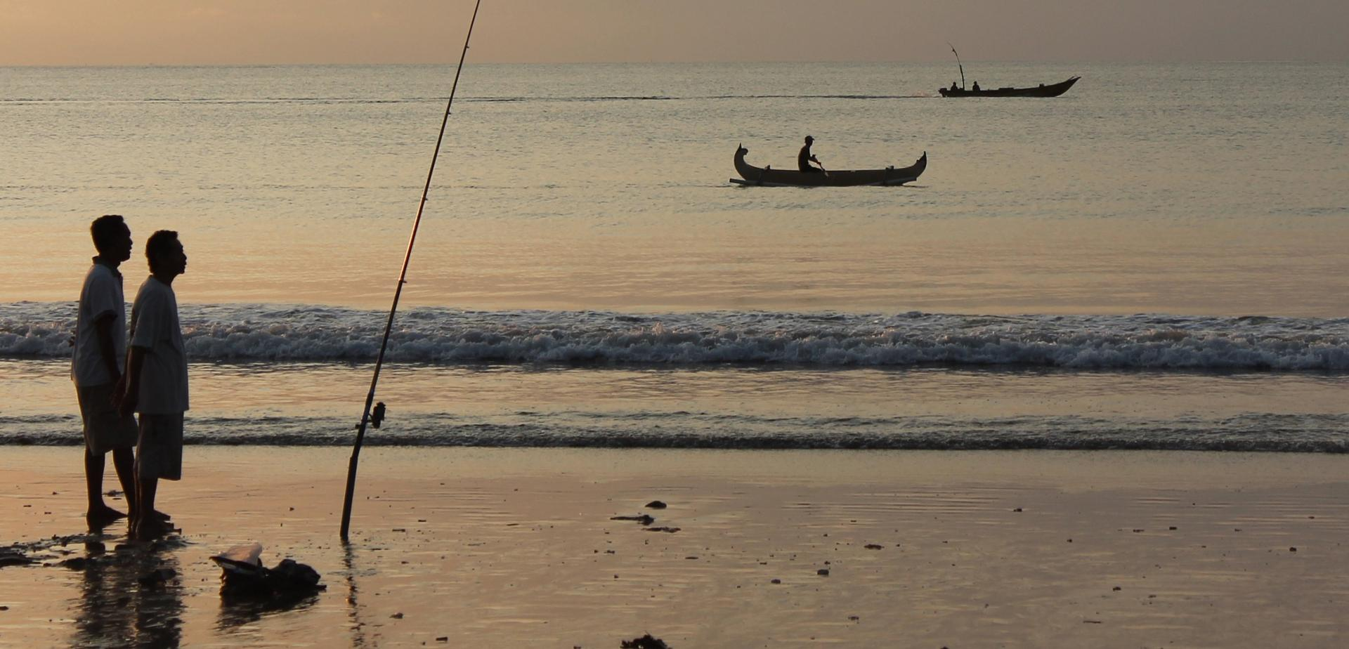 ligne de pêche
