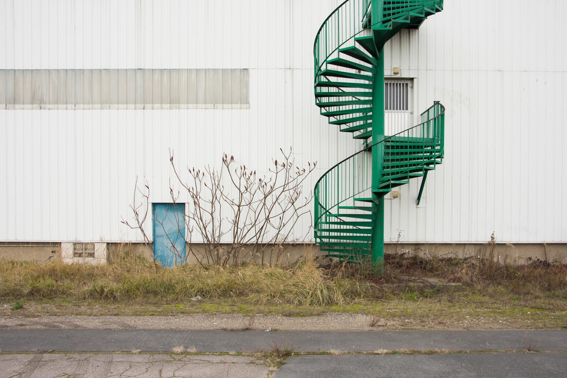 l'escalier vert