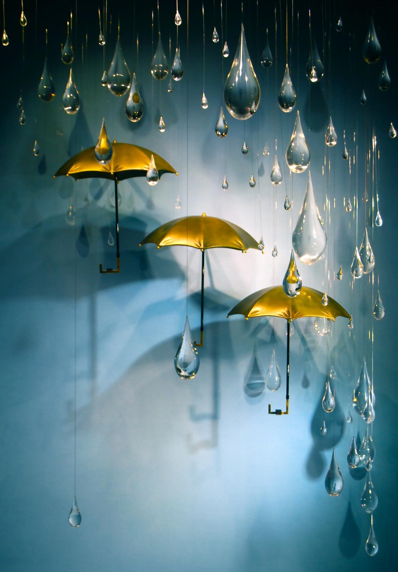 Trio de parapluies - 2