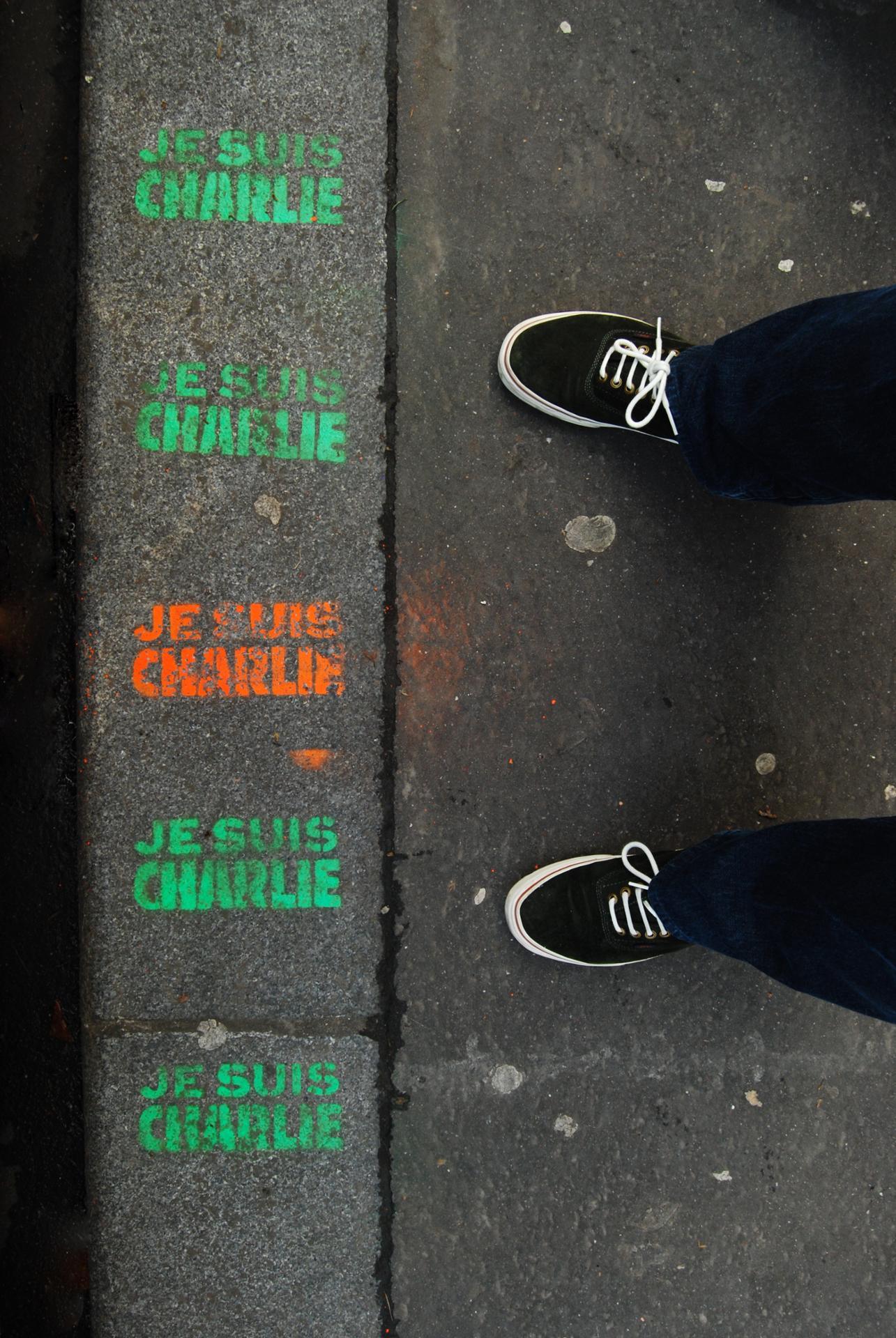 On a marché pour Charlie
