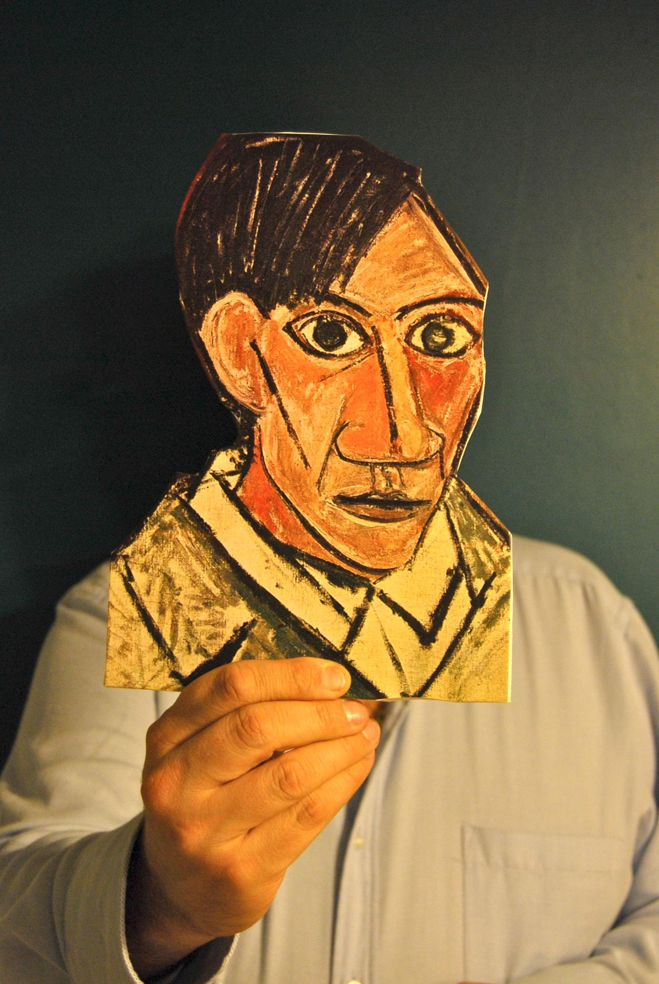 La figure humaine du peintre