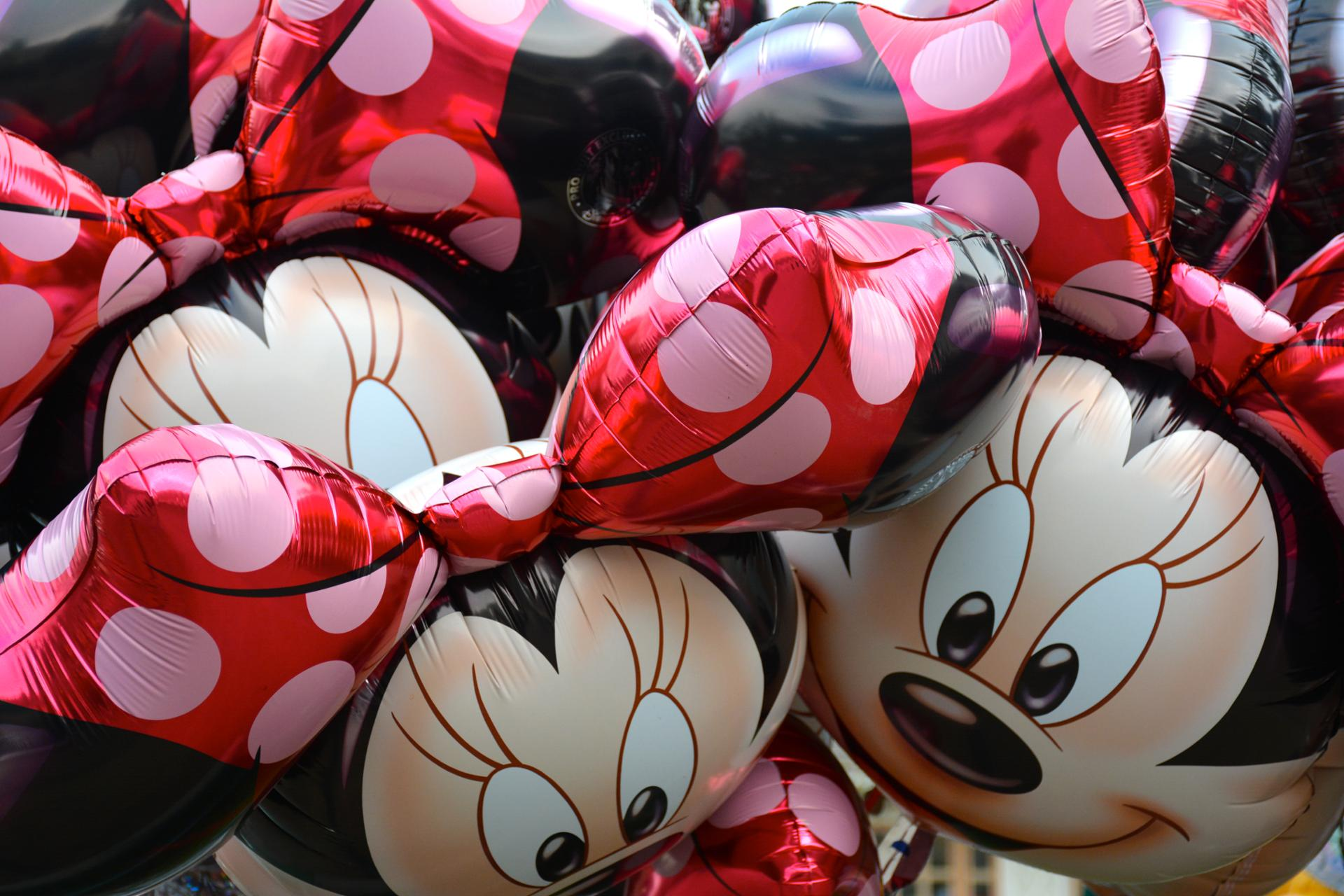 Minnie en ballons
