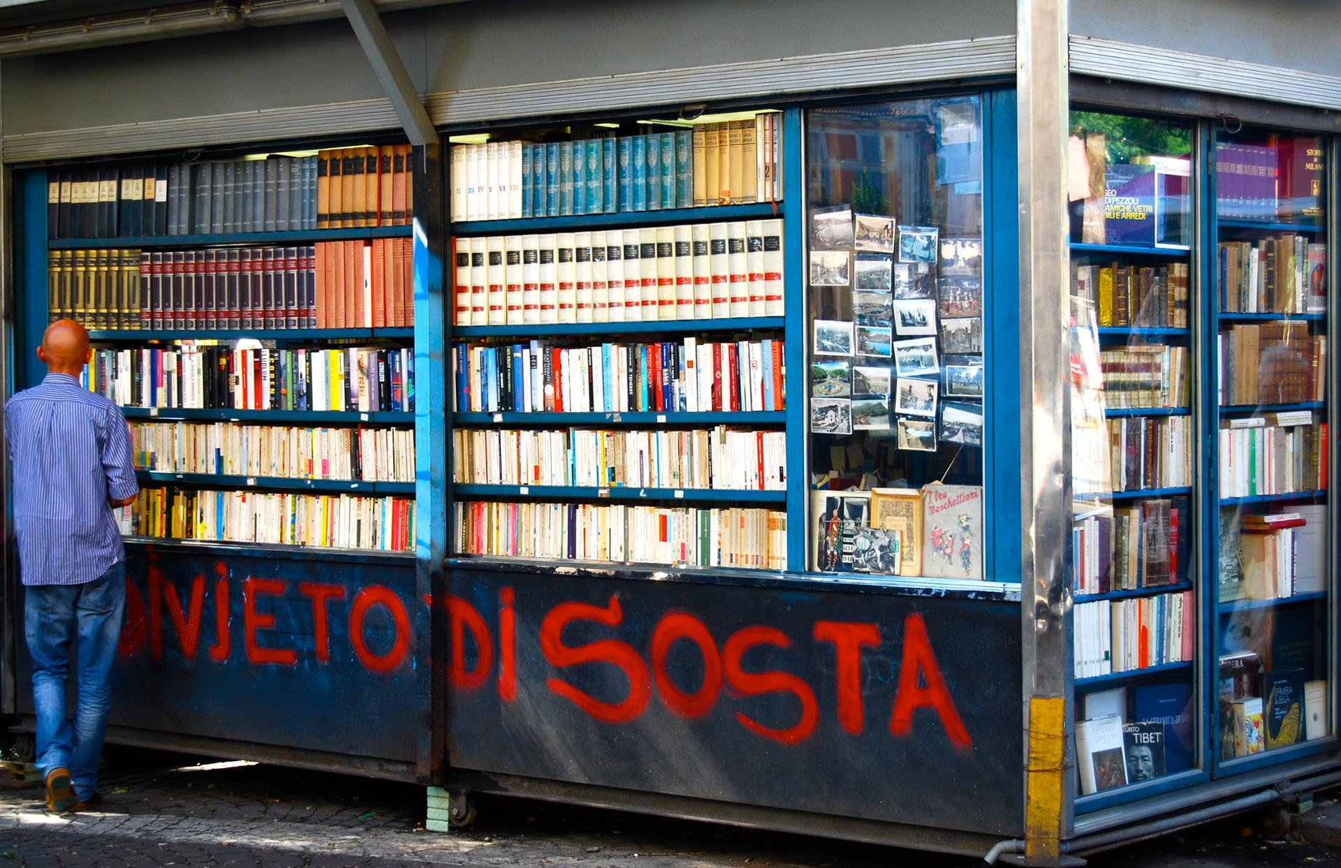 Librairie de rue