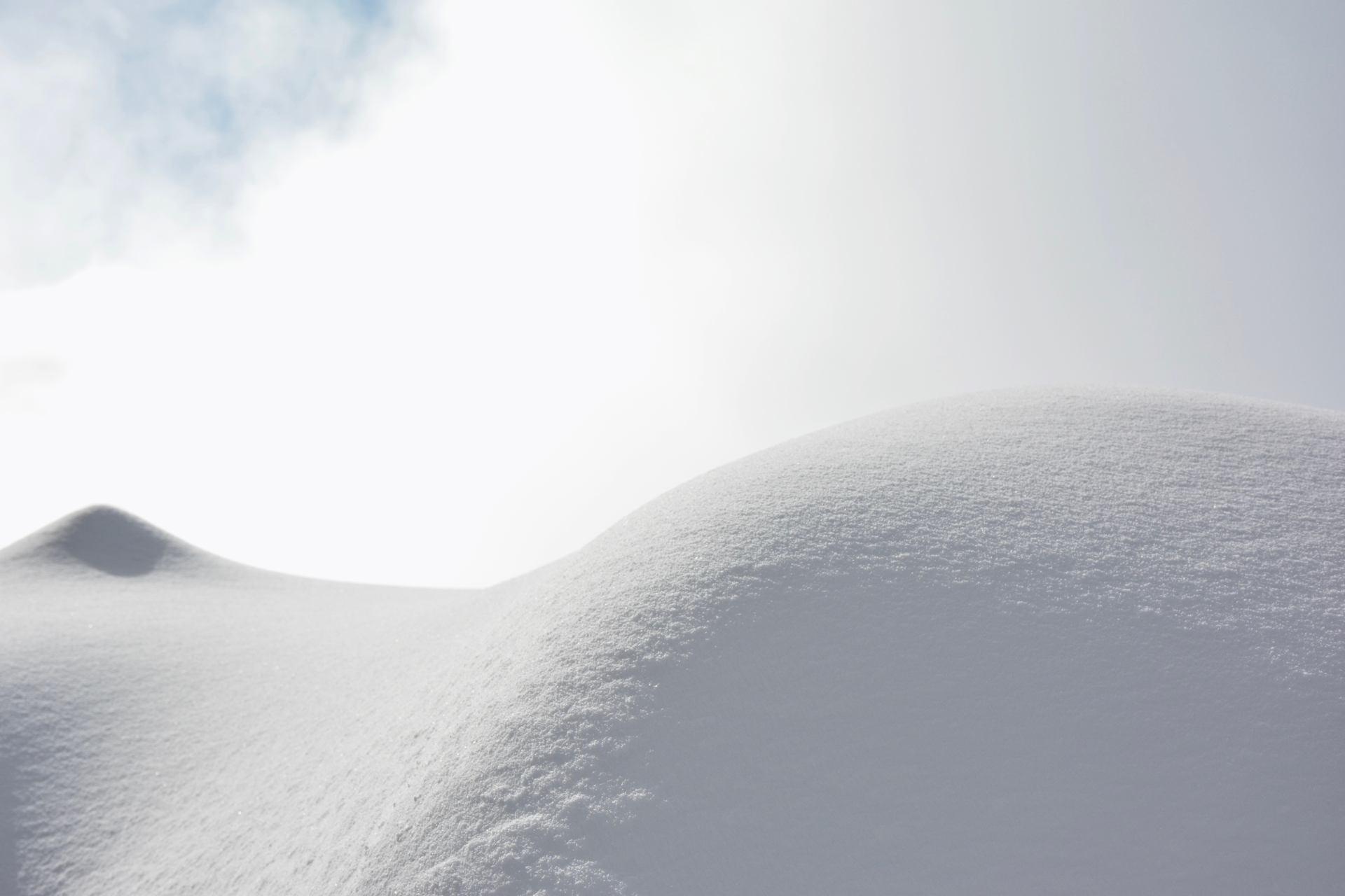 Formes de neige