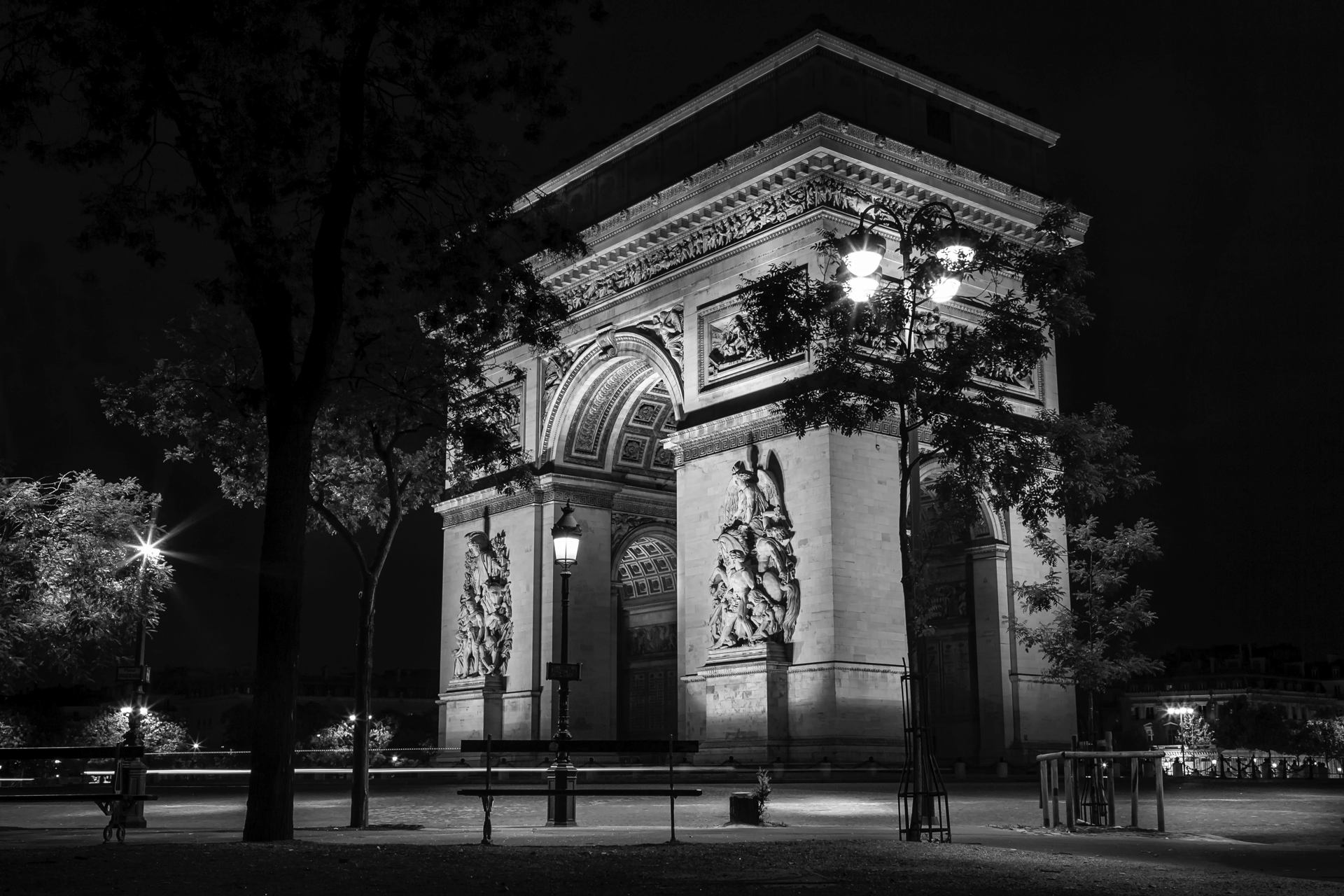 Arc by night