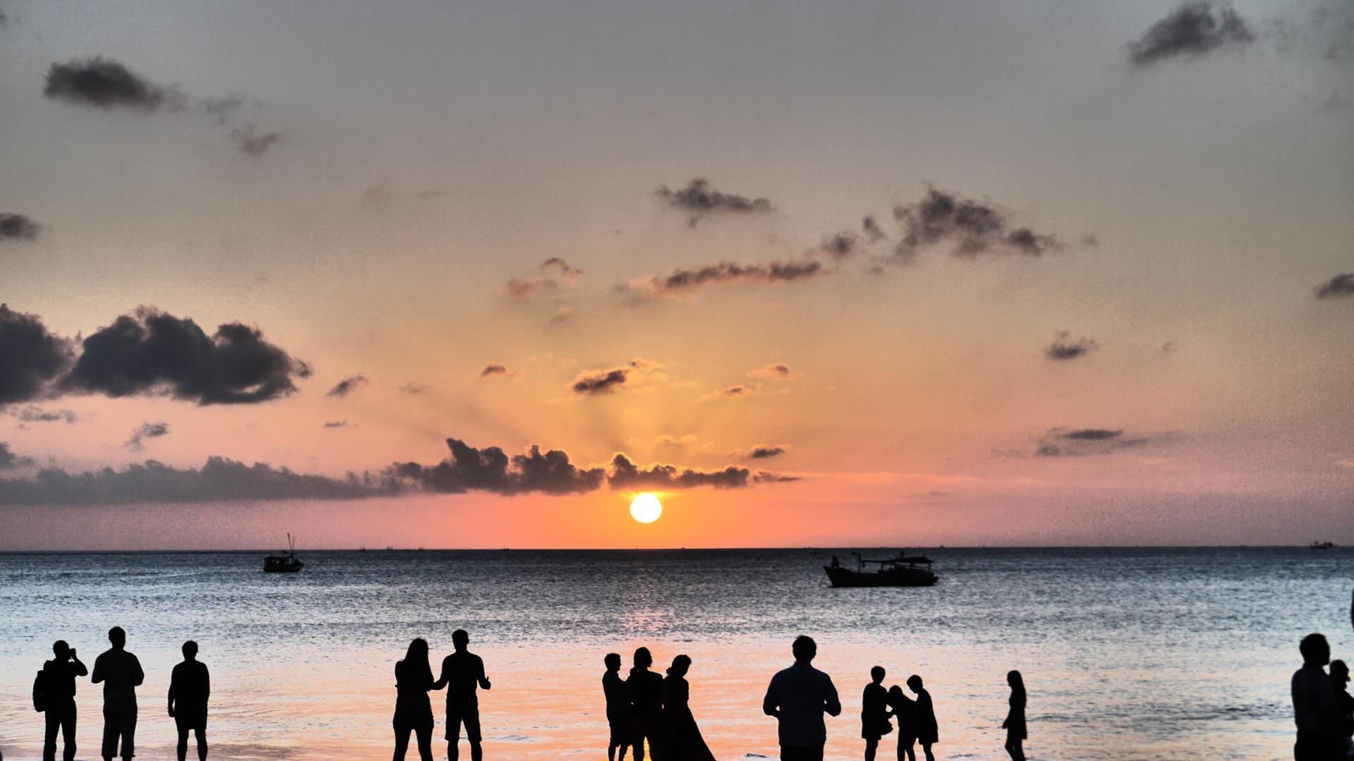 coucher soleil jimbaran