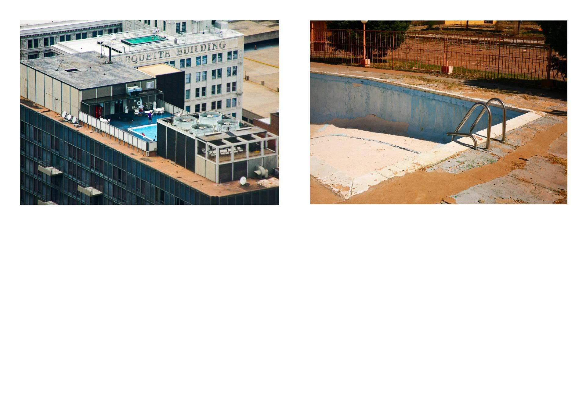 Swimming pool, up and down