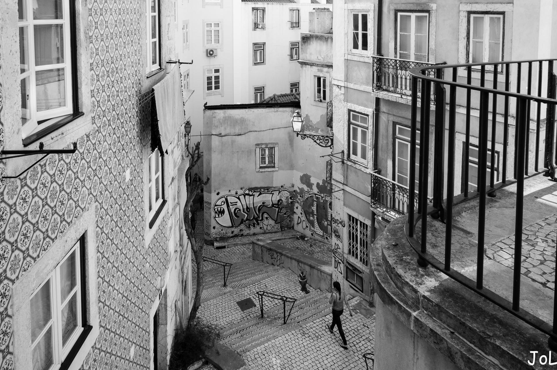 se perdre dans le vieux Lisbonne