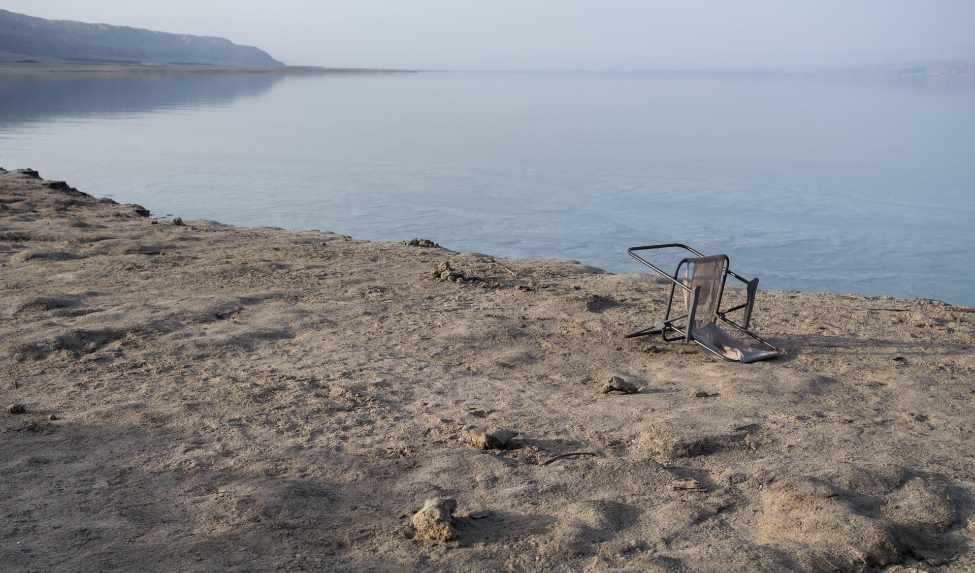 perdu à la plage