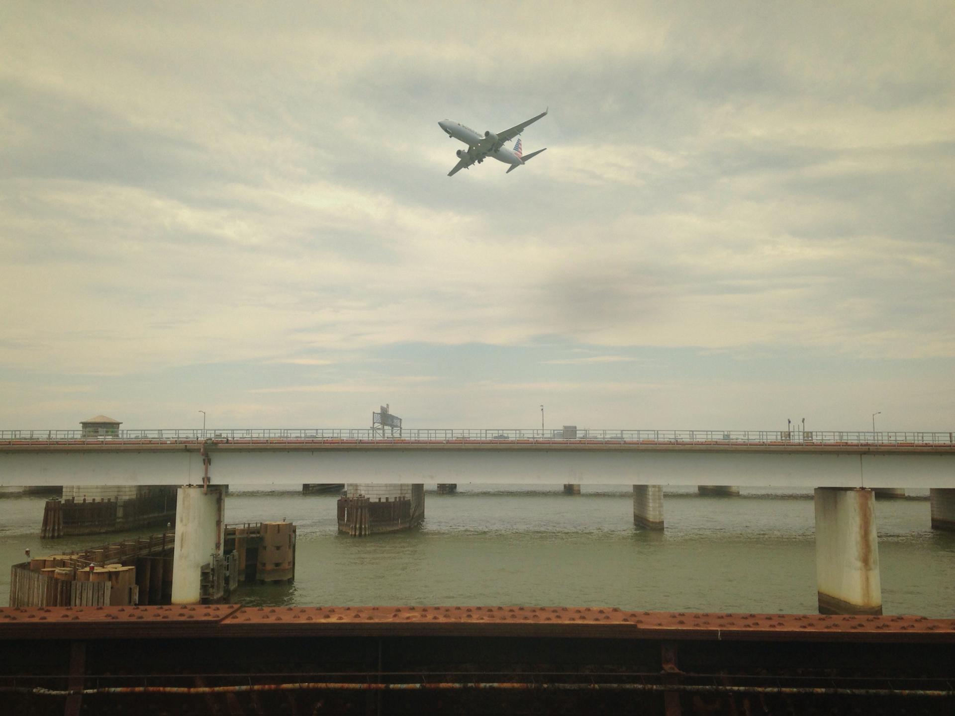 Vol au-dessus du Potomac