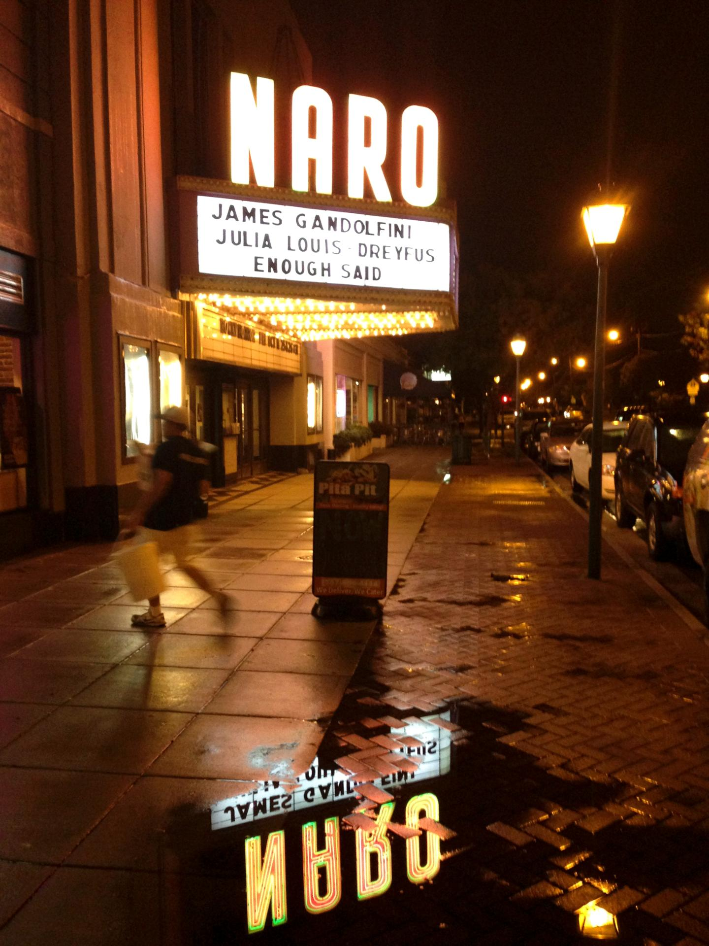 Naro's reflection