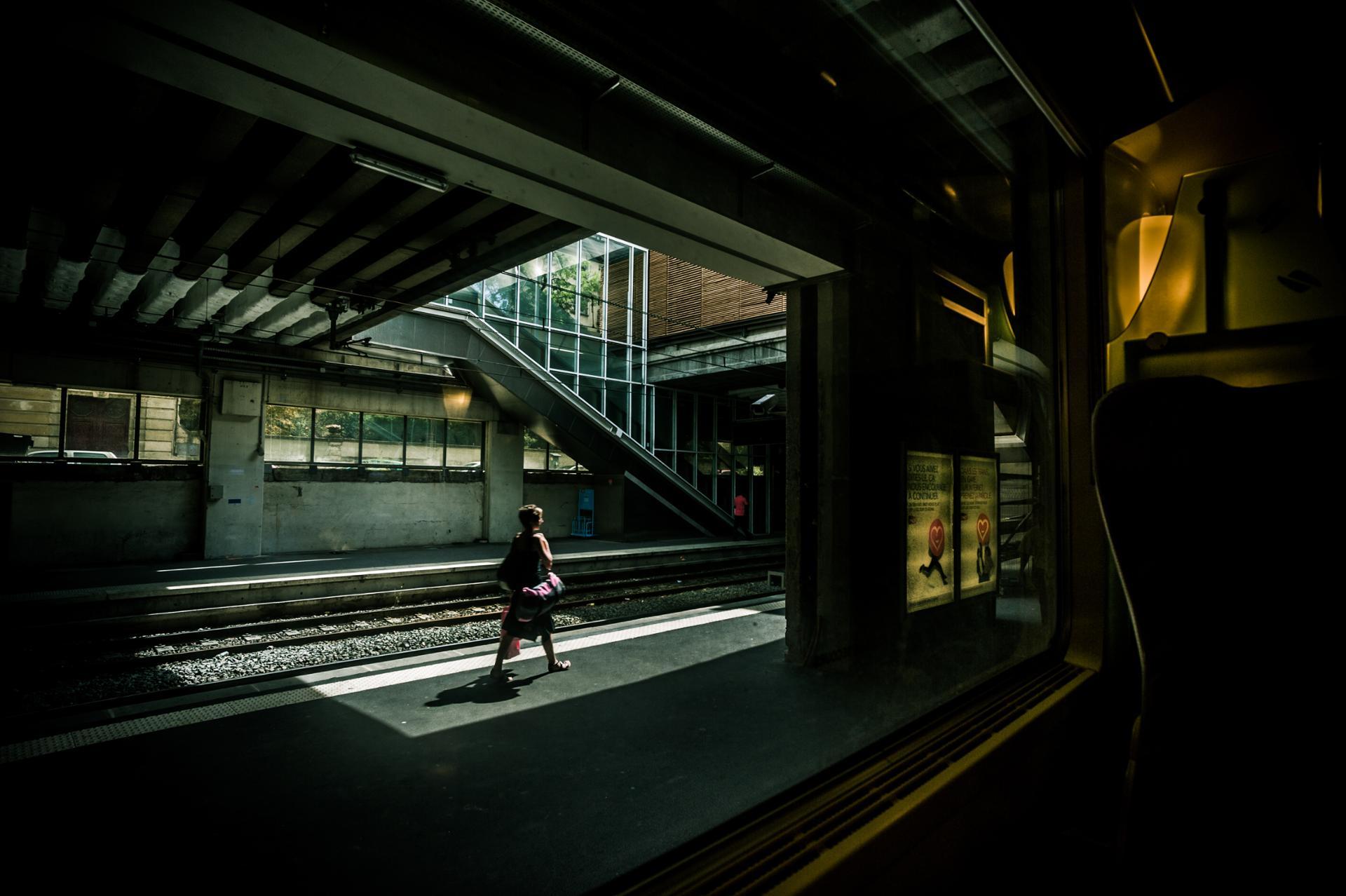Inconnue de gare