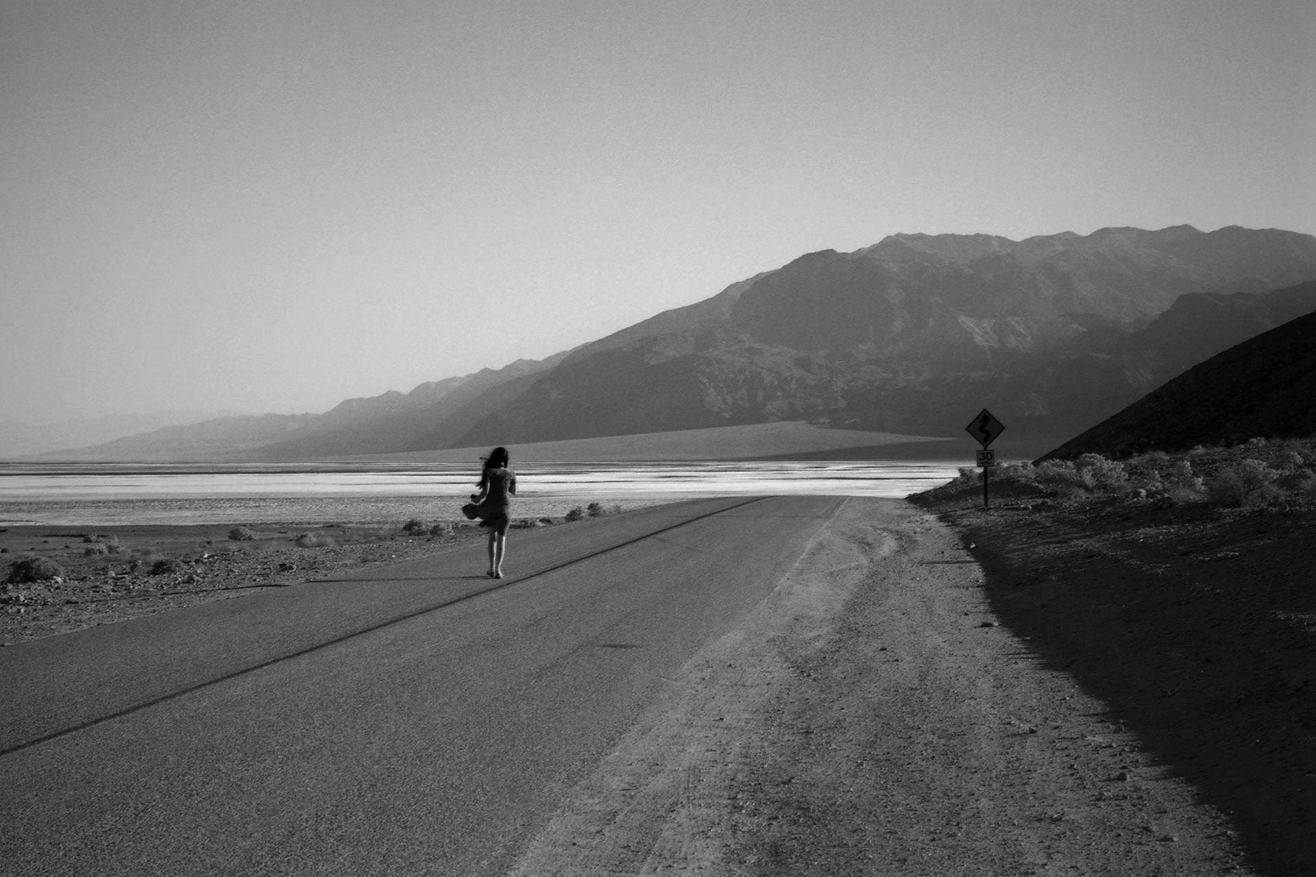 Death Valley, Mormon Point, 6H du matin