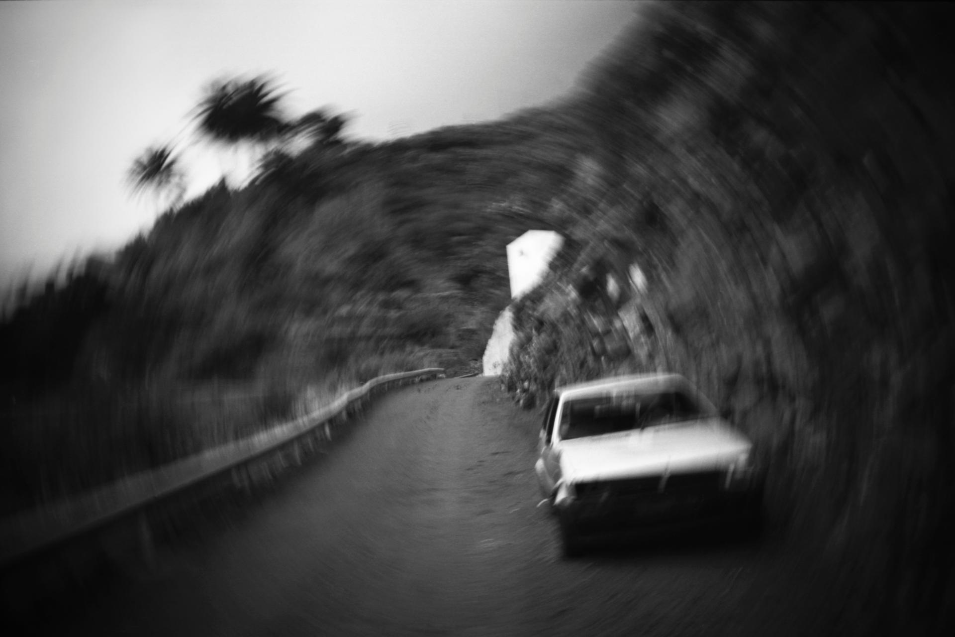route de montagne, La Gomera, Espagne