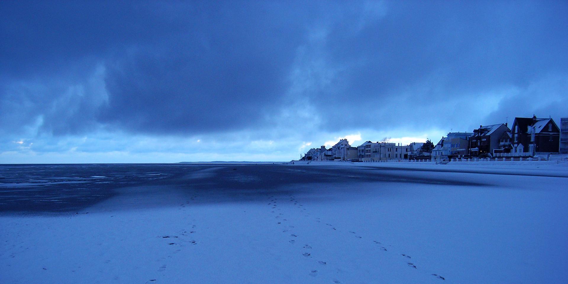 En Baie de Somme un 1er janvier
