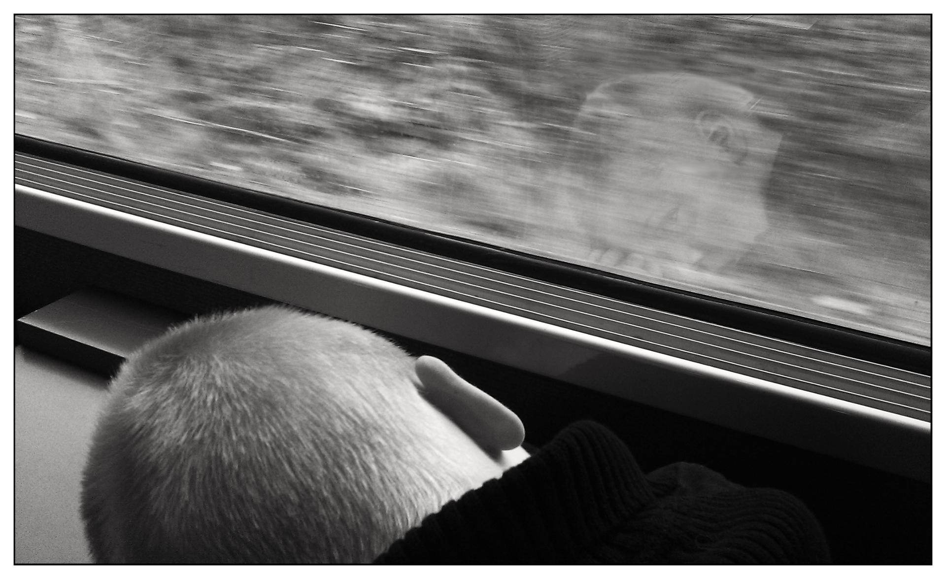 Mon premier voyage en train