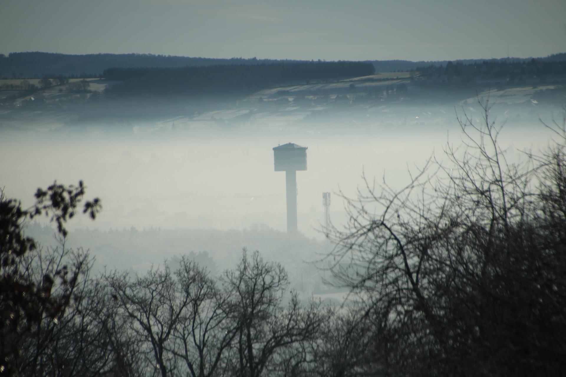 Tour dans la brume