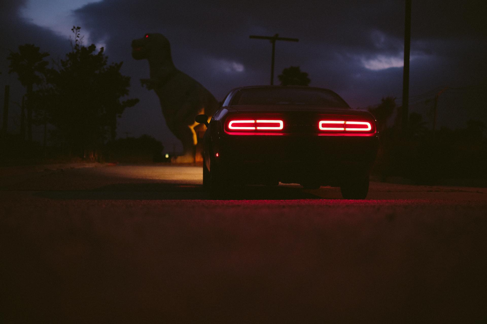 T-Rex & the Dodge