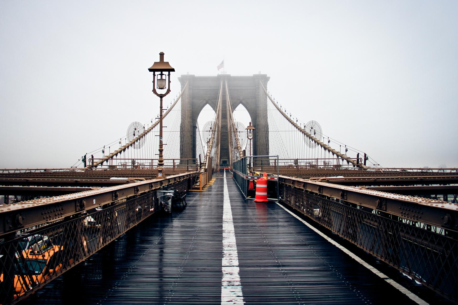 Brouillard à NYC