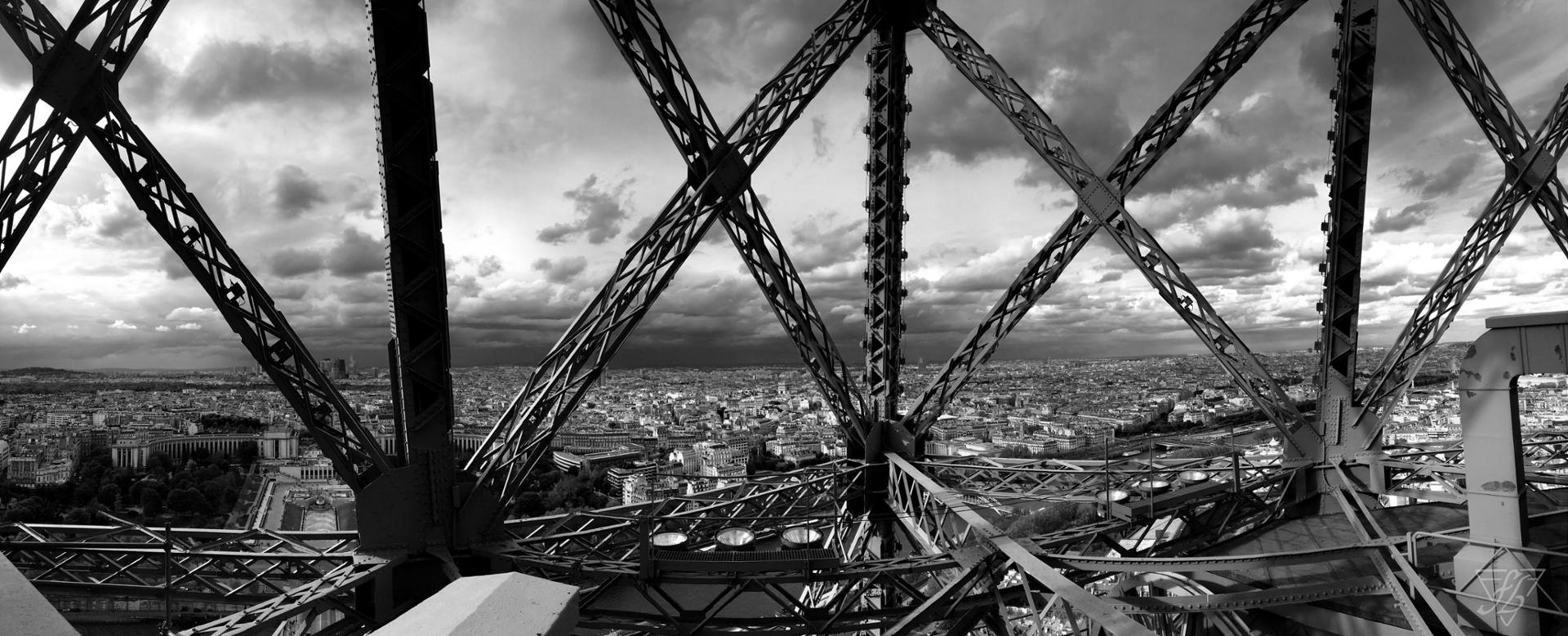 In the Eiffel Tower