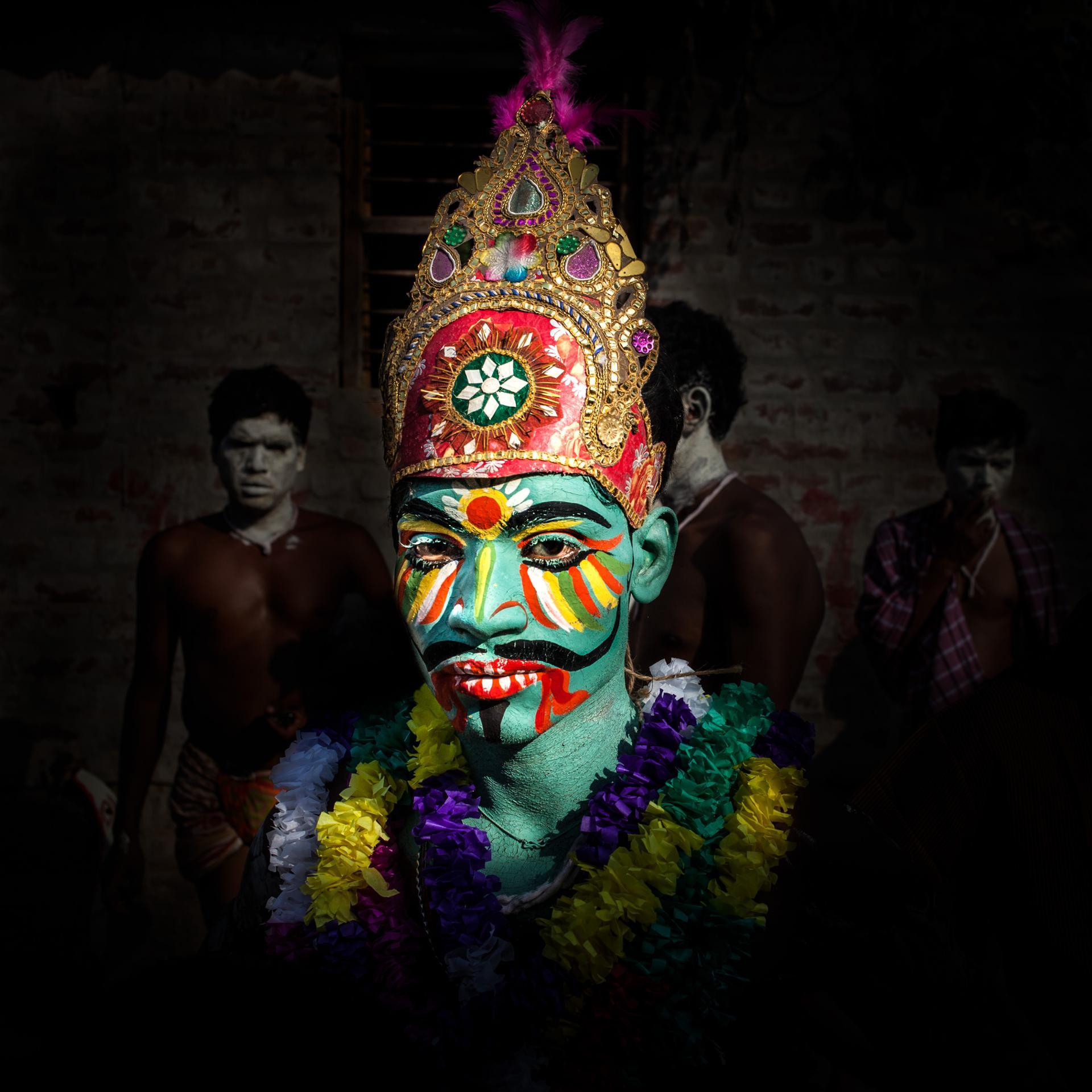 Inde - le culte de Gajan