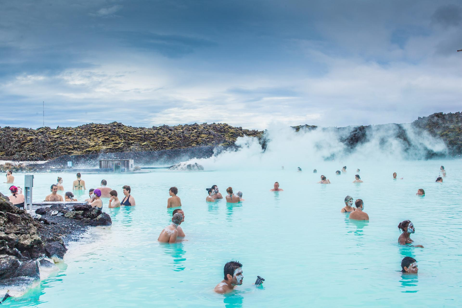 Colored Blue Lagoon 2