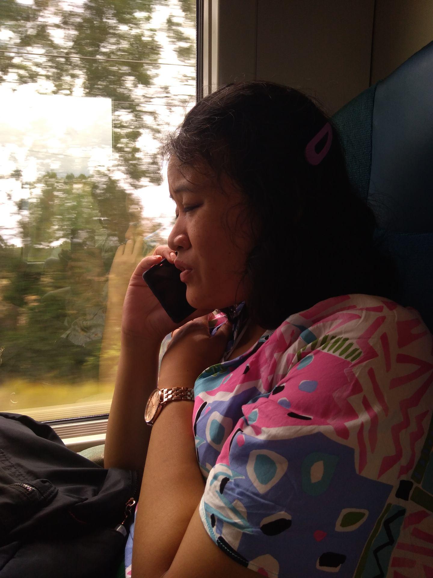Always on the phone
