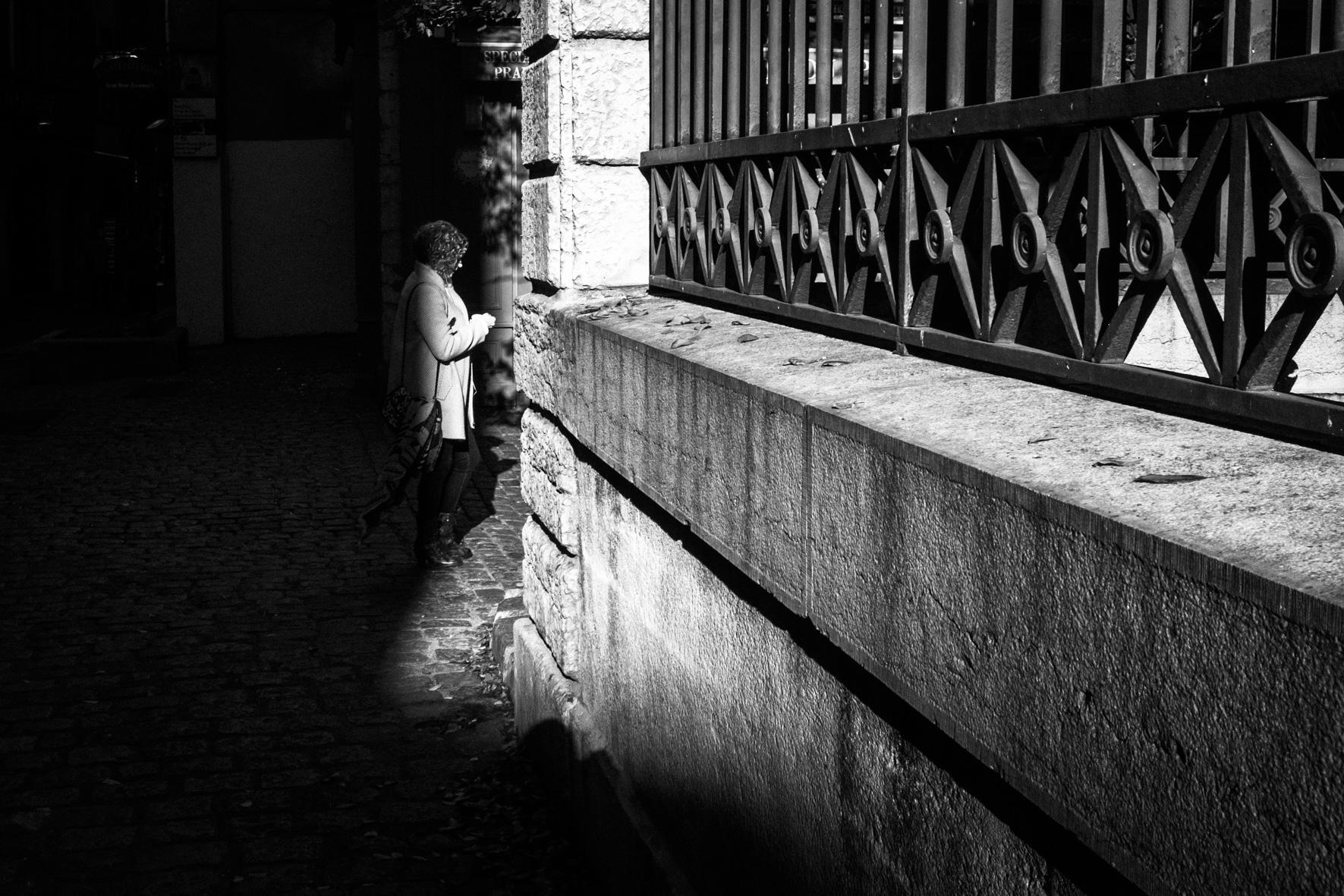 Sortir de l'ombre...