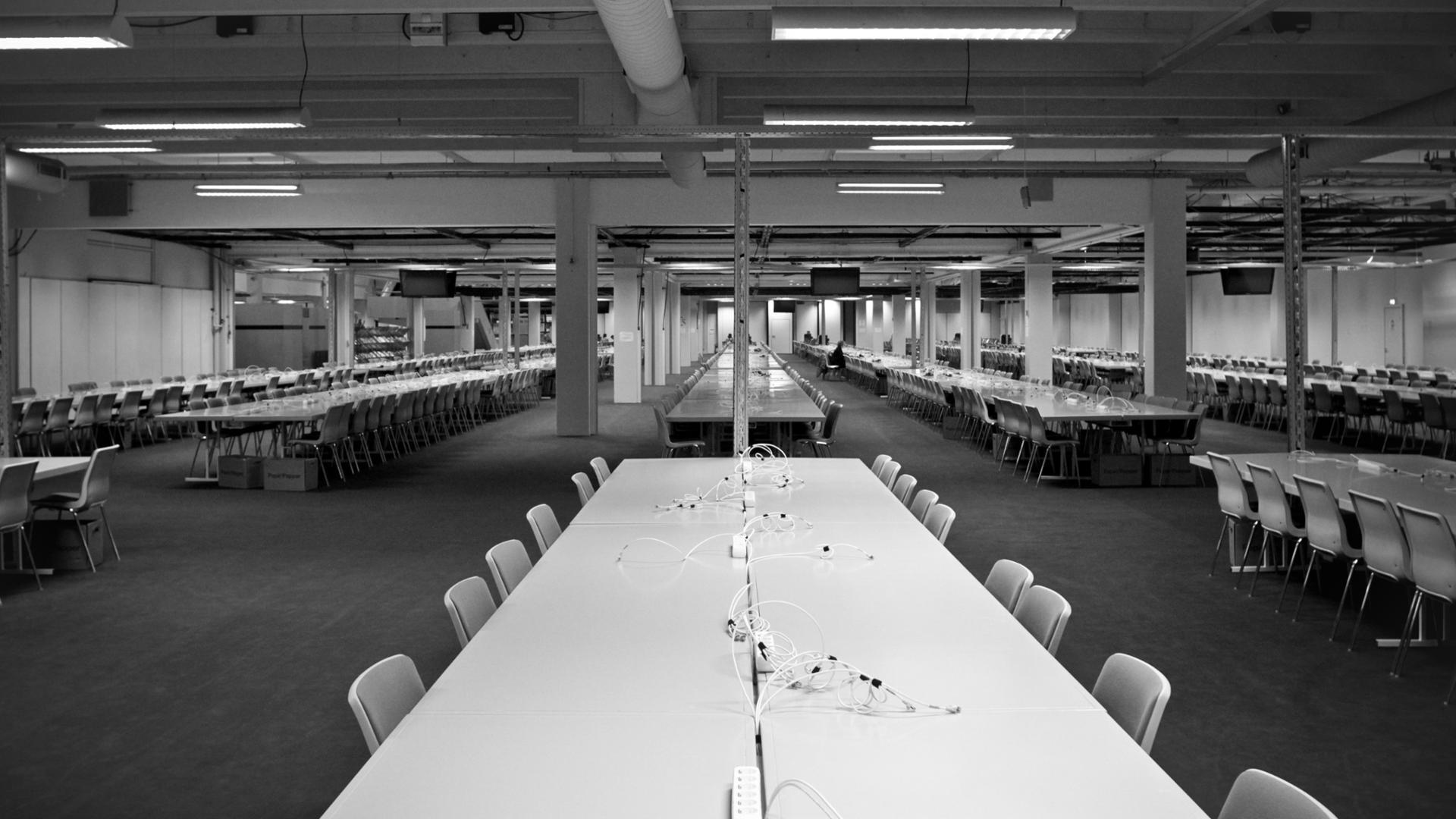 Centre de presse Convention climat à Copenhague