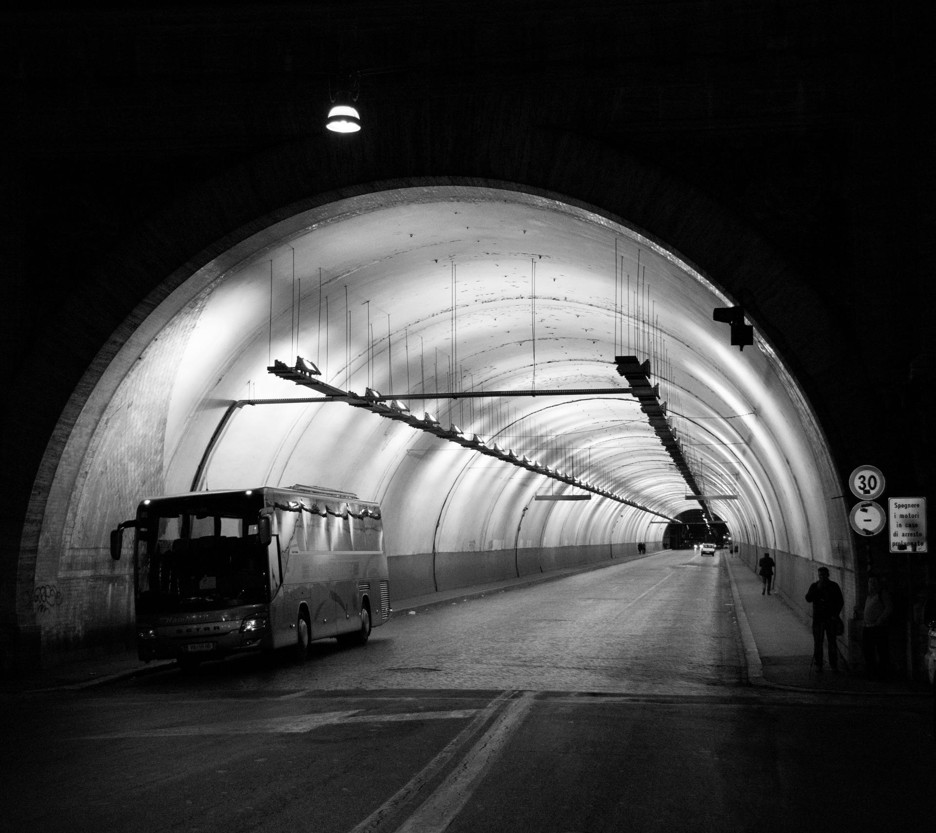 Rome tunnel